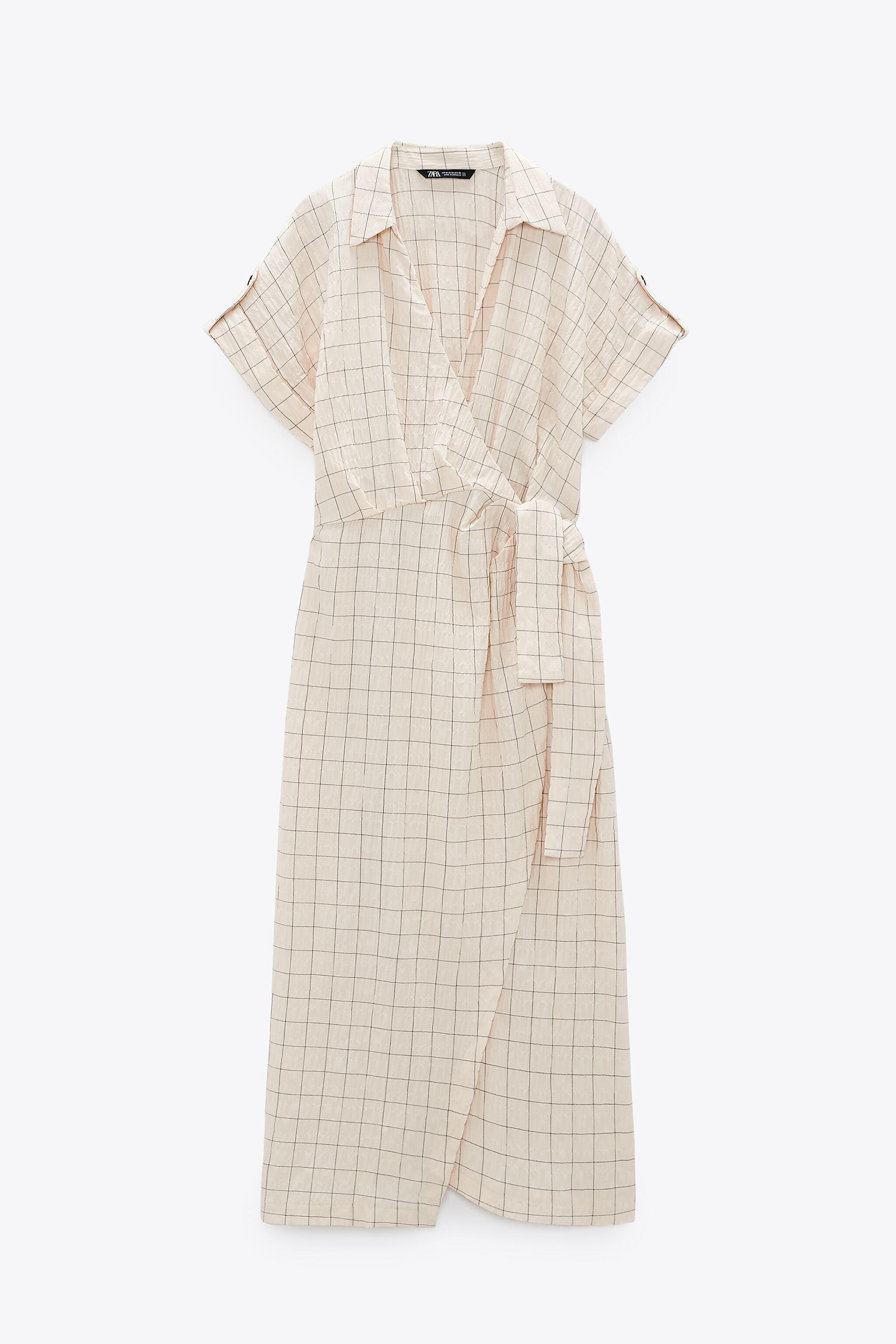 CHECKERED KNOTTED DRESS 1