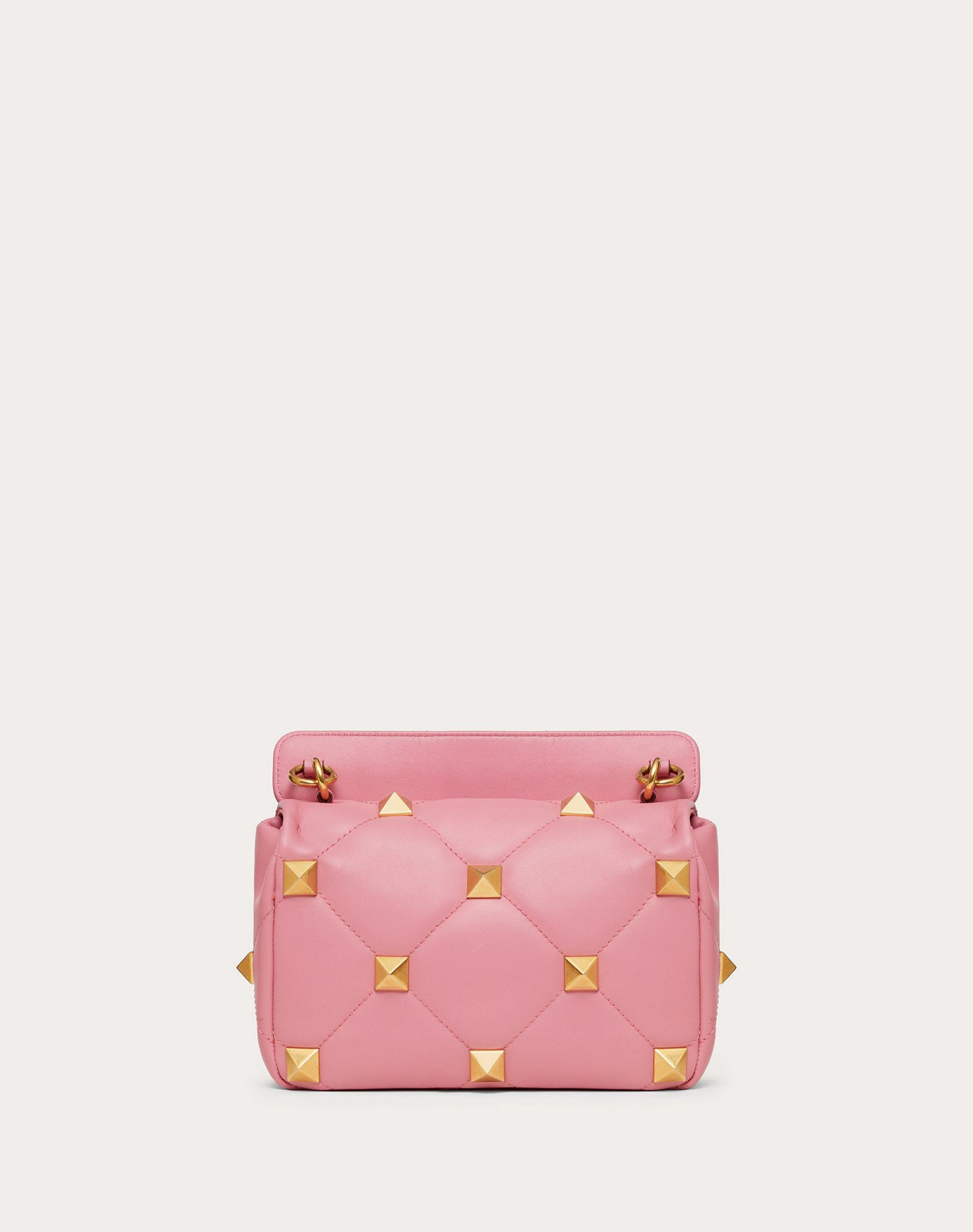 Medium Roman Stud The Shoulder Bag in Nappa with Chain 2