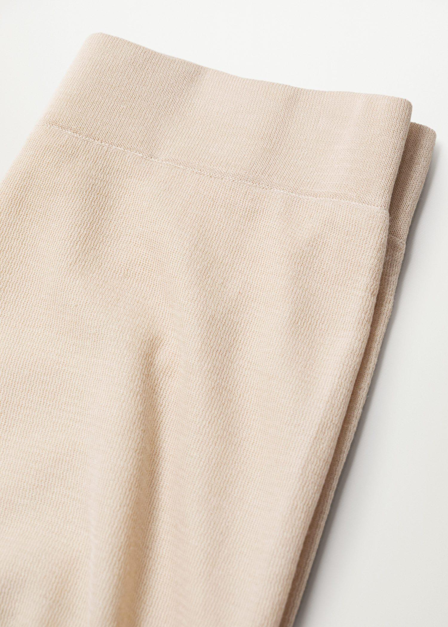 Knitted culotte trousers 6
