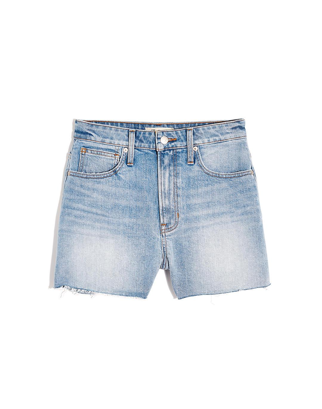 The Curvy Perfect Jean Short in Baylis Wash 3