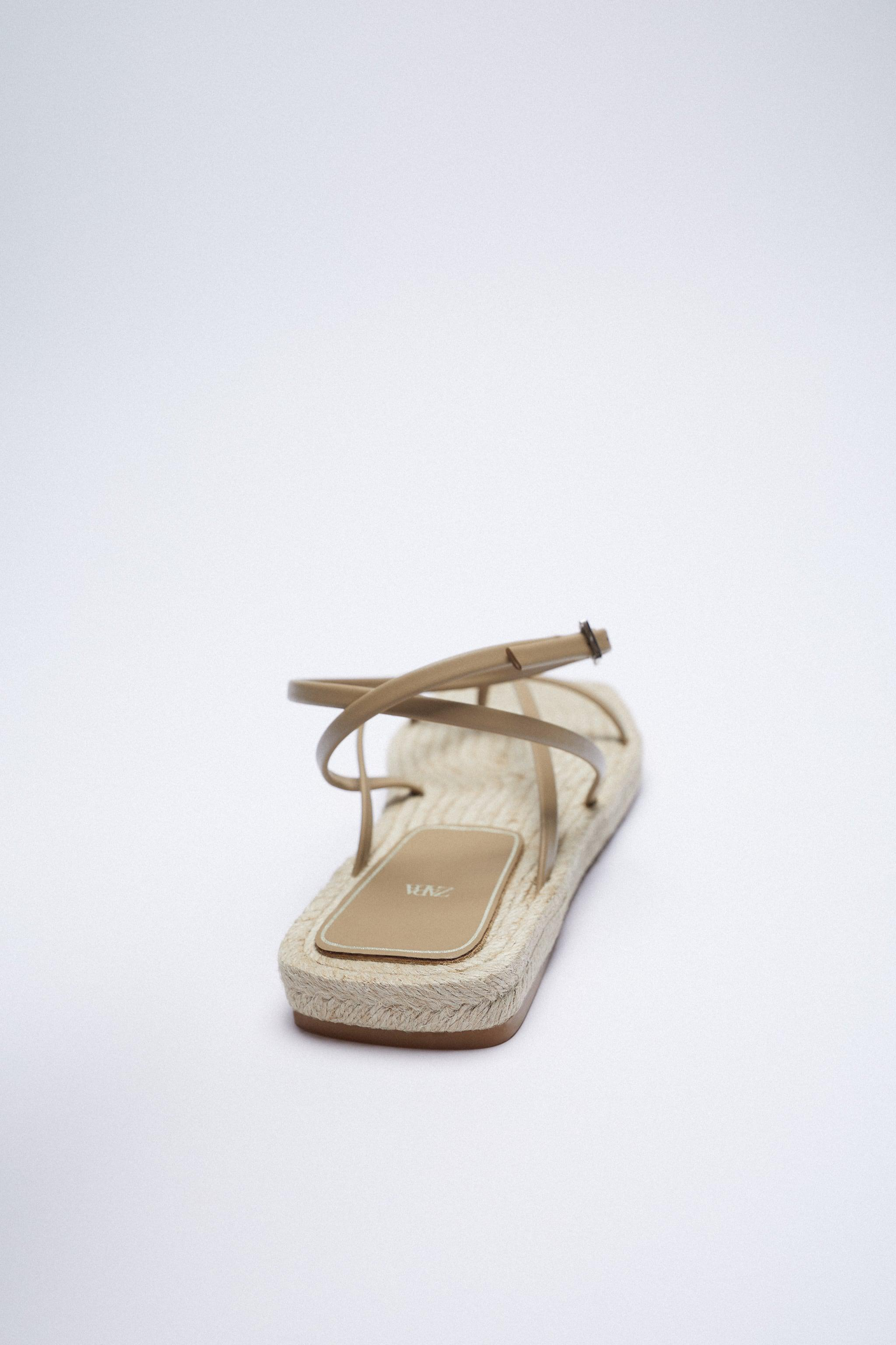 CHUNKY STRAPPY JUTE SANDALS 3