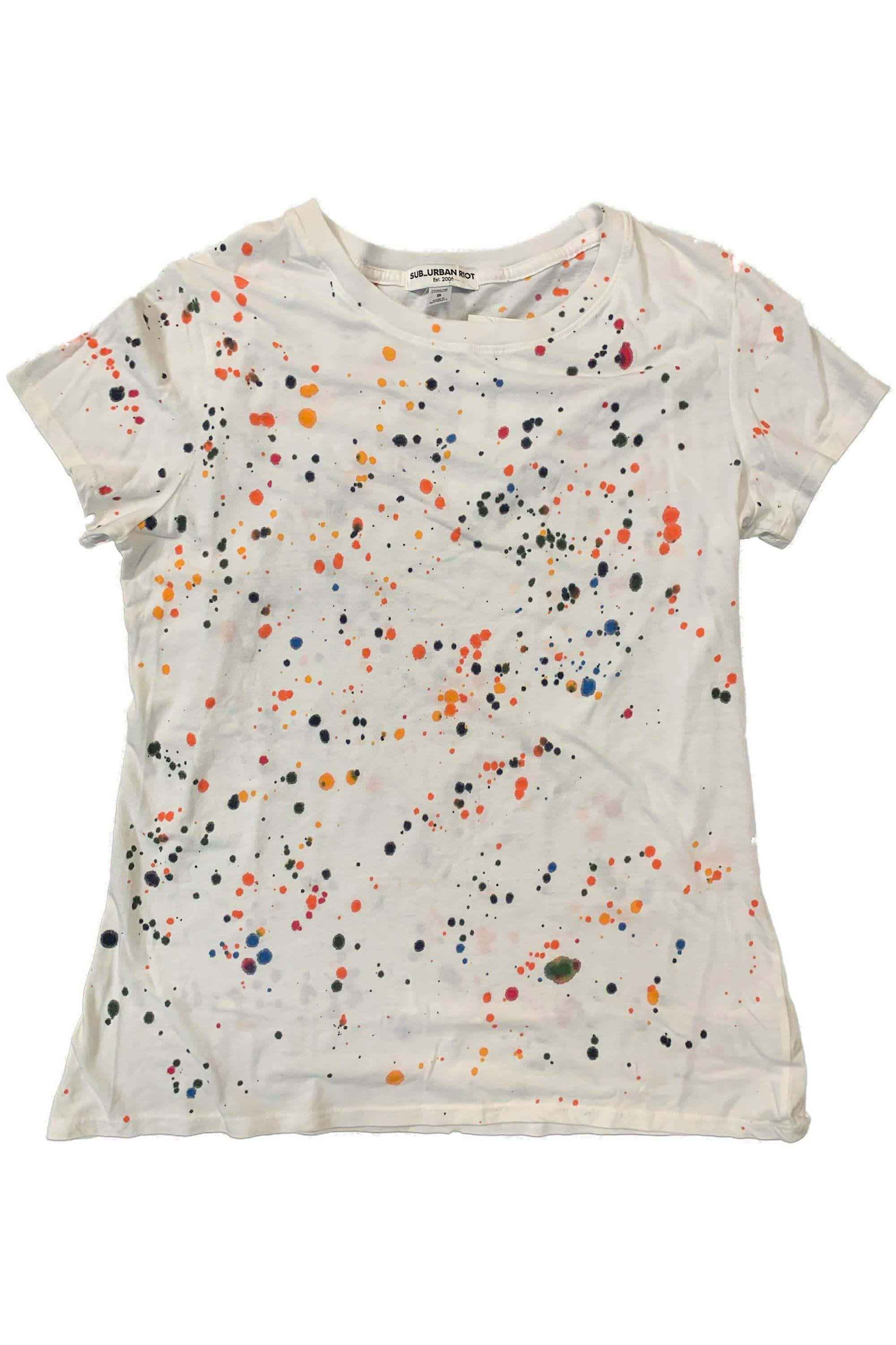 SPLATTER PAINT YOUTH SIZE LOOSE TEE 1