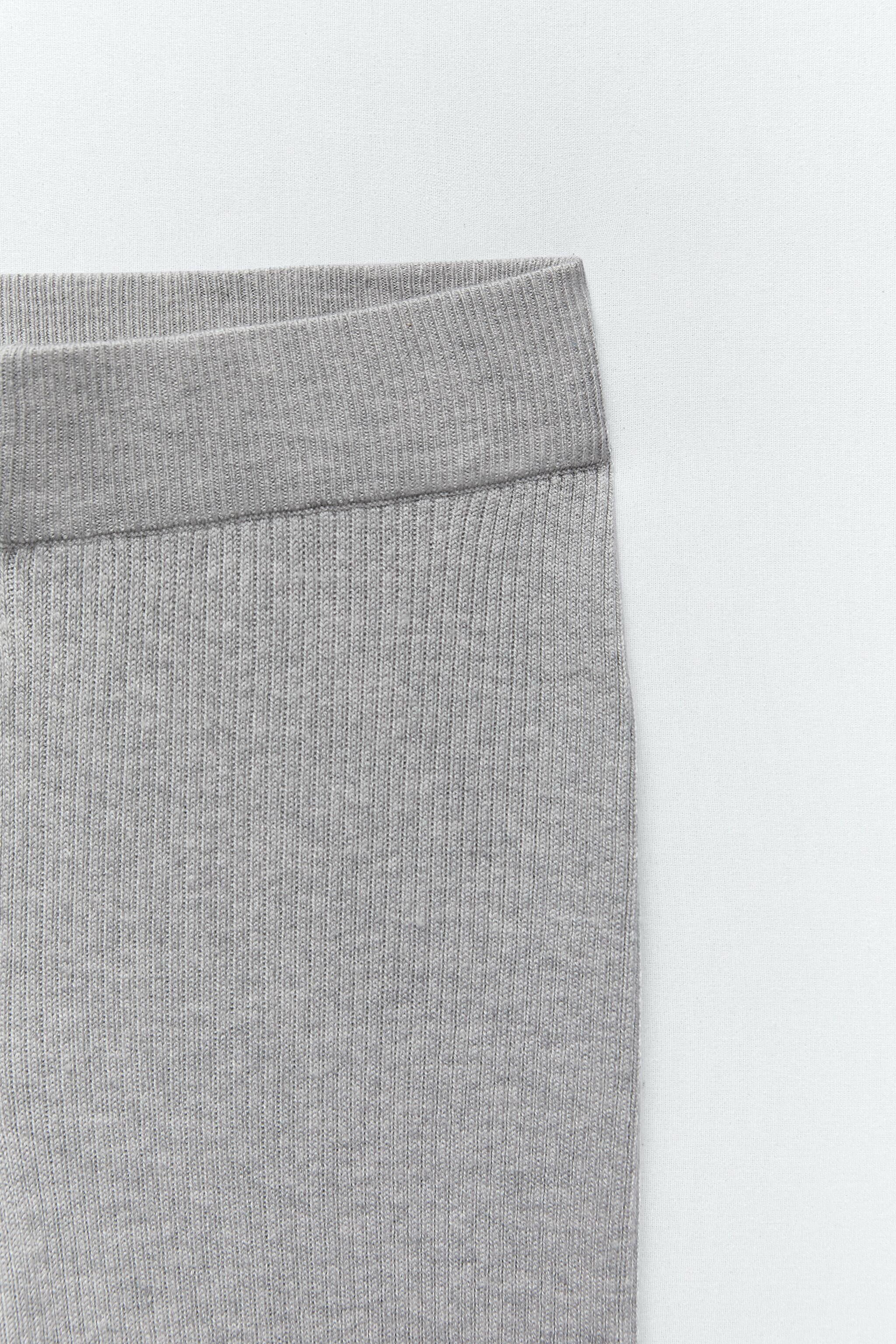 FLARED KNIT PANTS 6