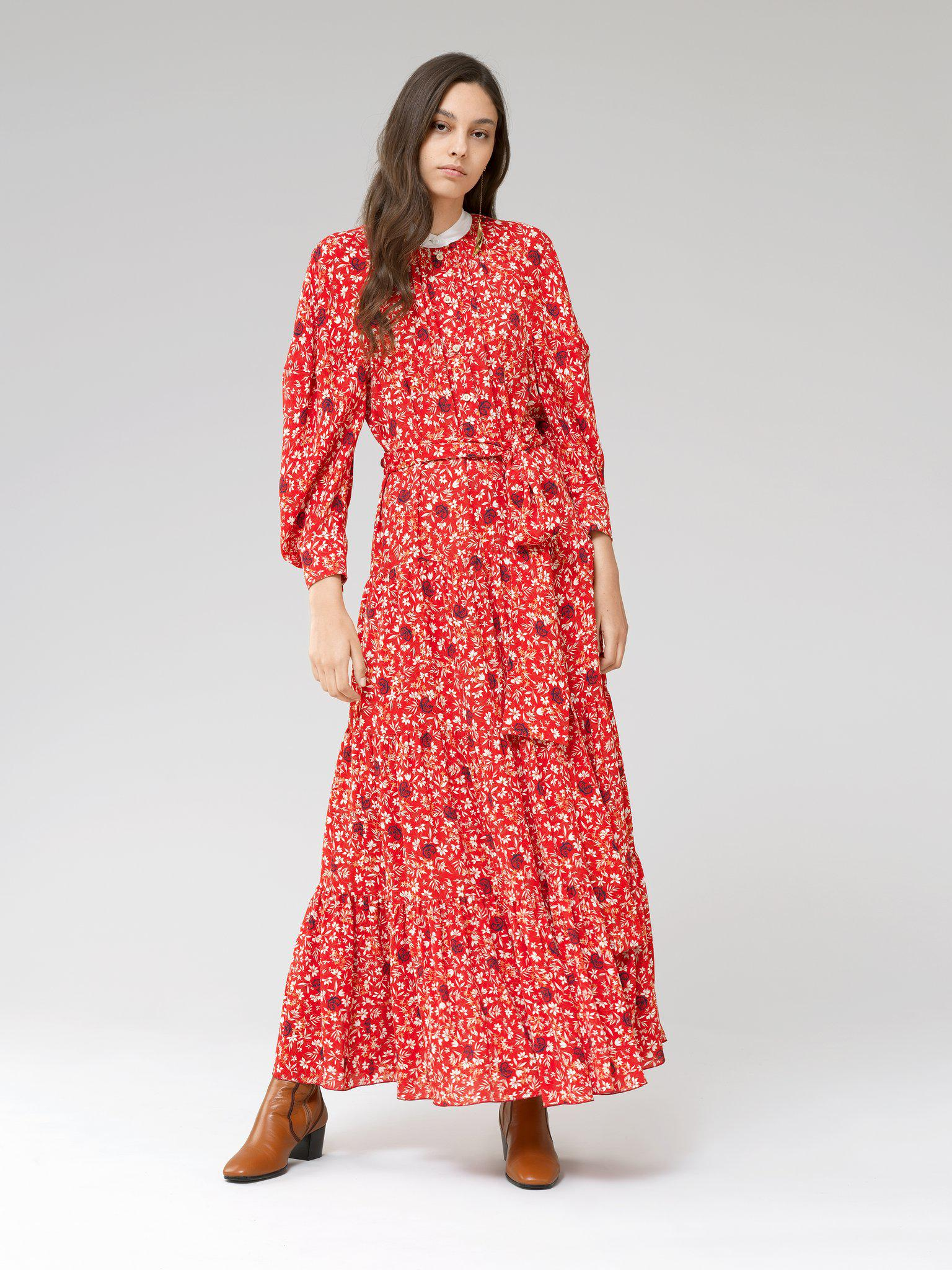 LONG DRESS WITH PRINT 2