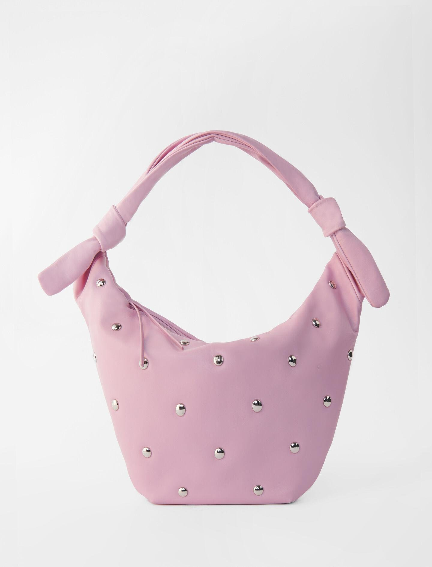 LEATHER BELT BAG WITH STUDS