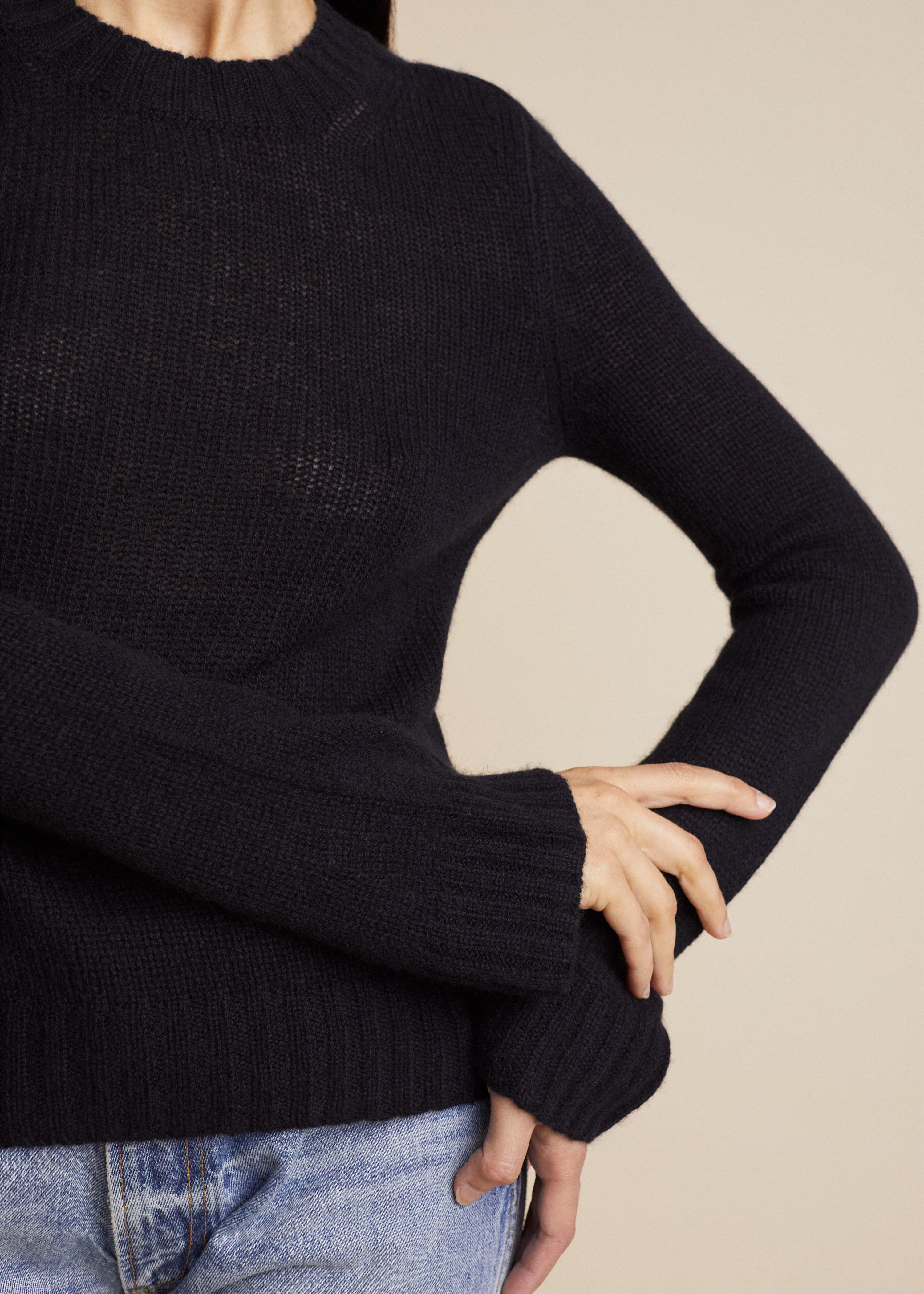 The Mary Jane Sweater in Black 4
