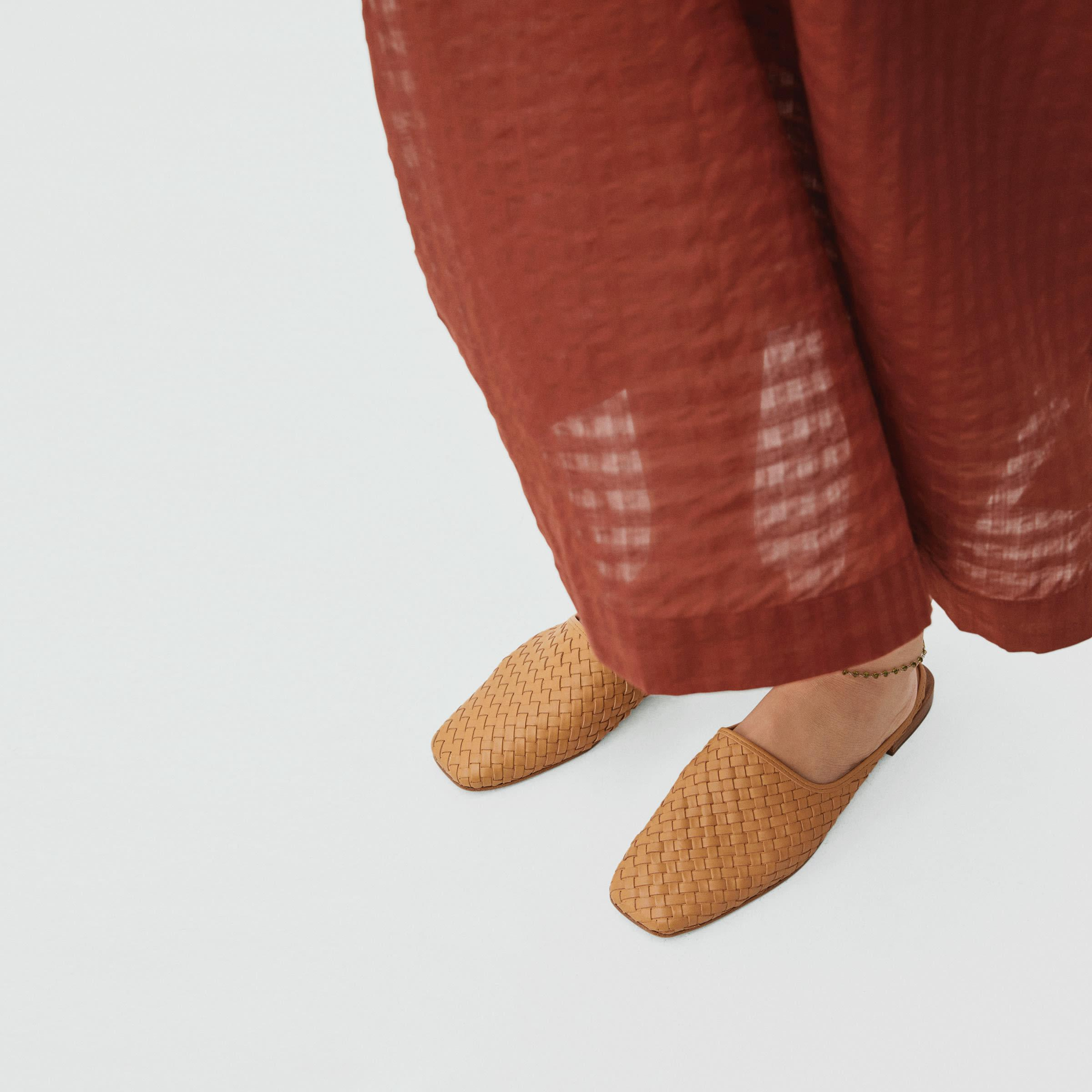 The Woven Leather Mule 3