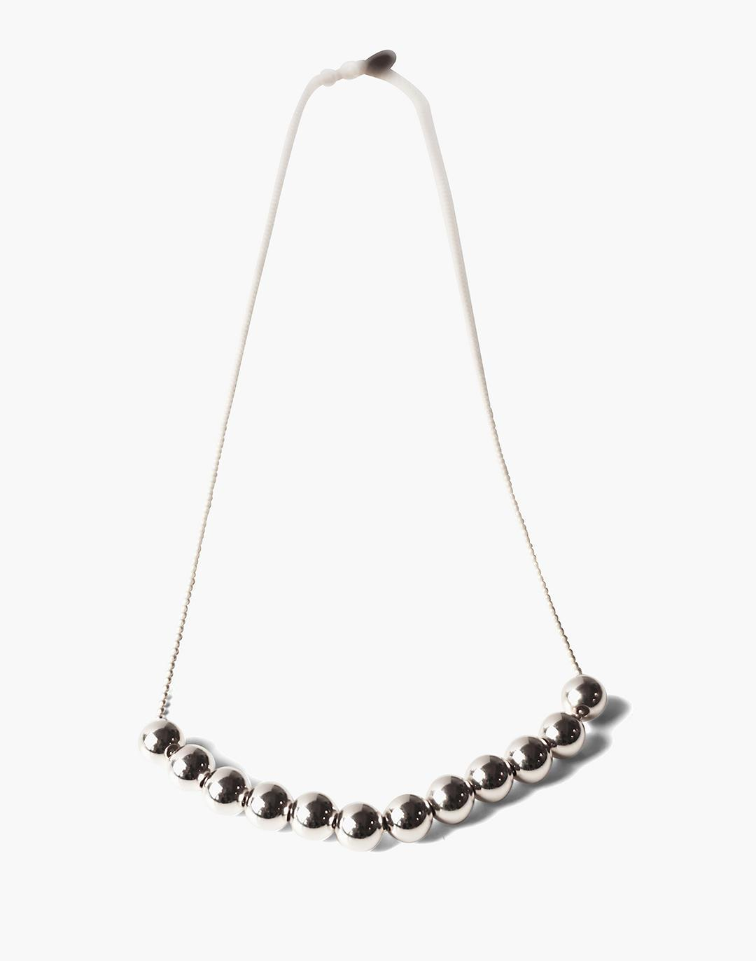 Charlotte Cauwe Studio Bead Chain in Sterling Silver
