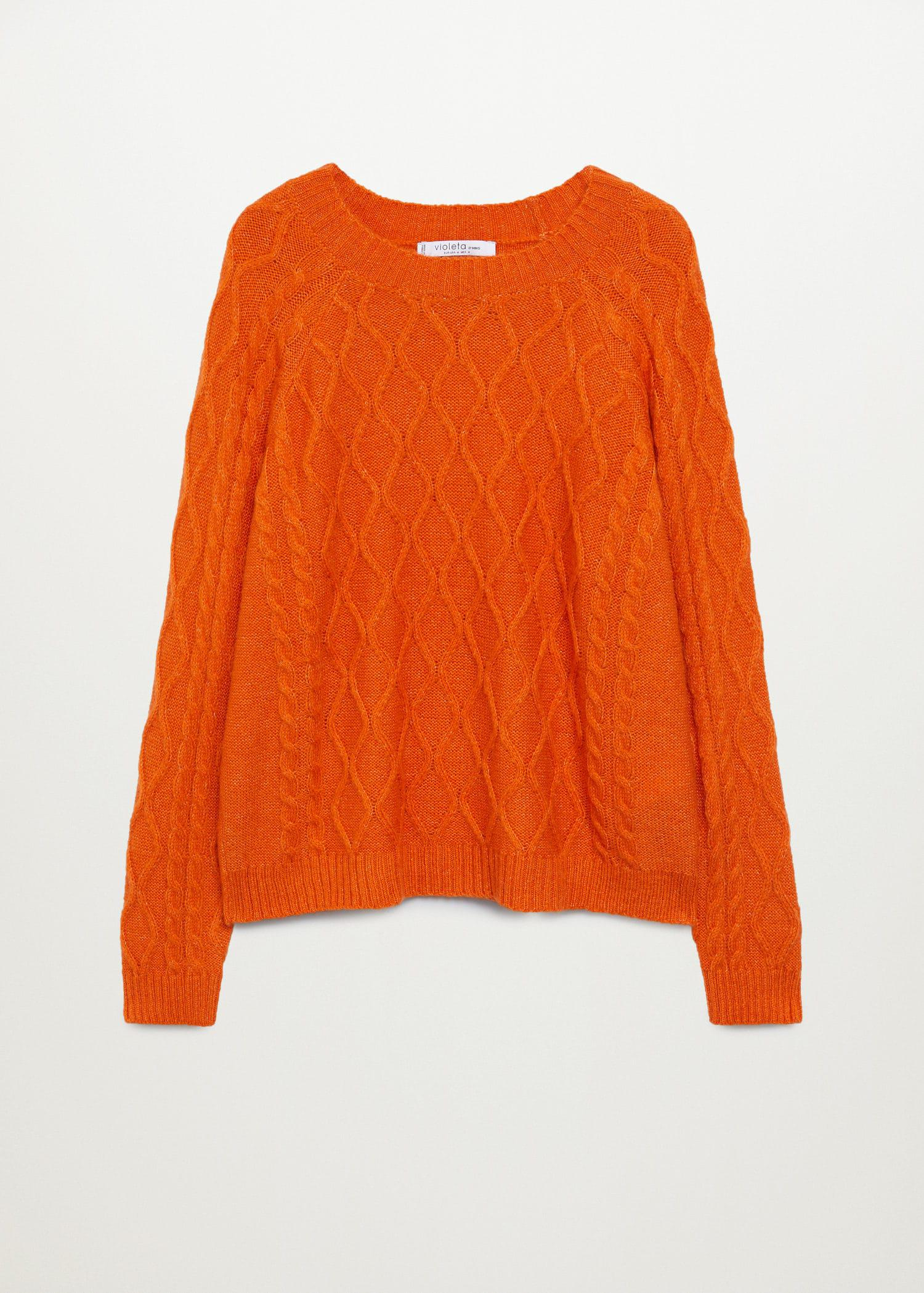 Cable-knit sweater 7