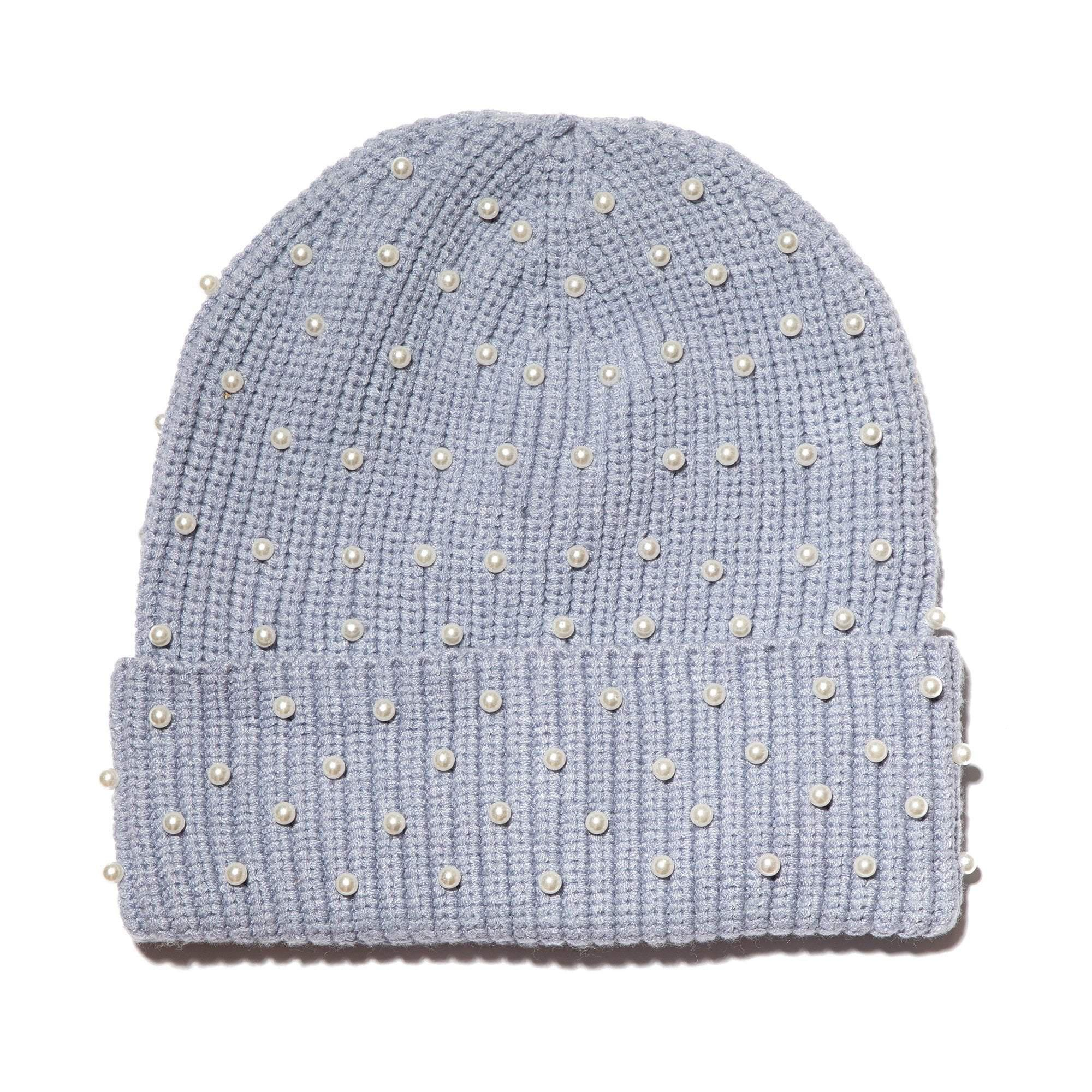 LILAC ALL OVER PEARL BEANIE