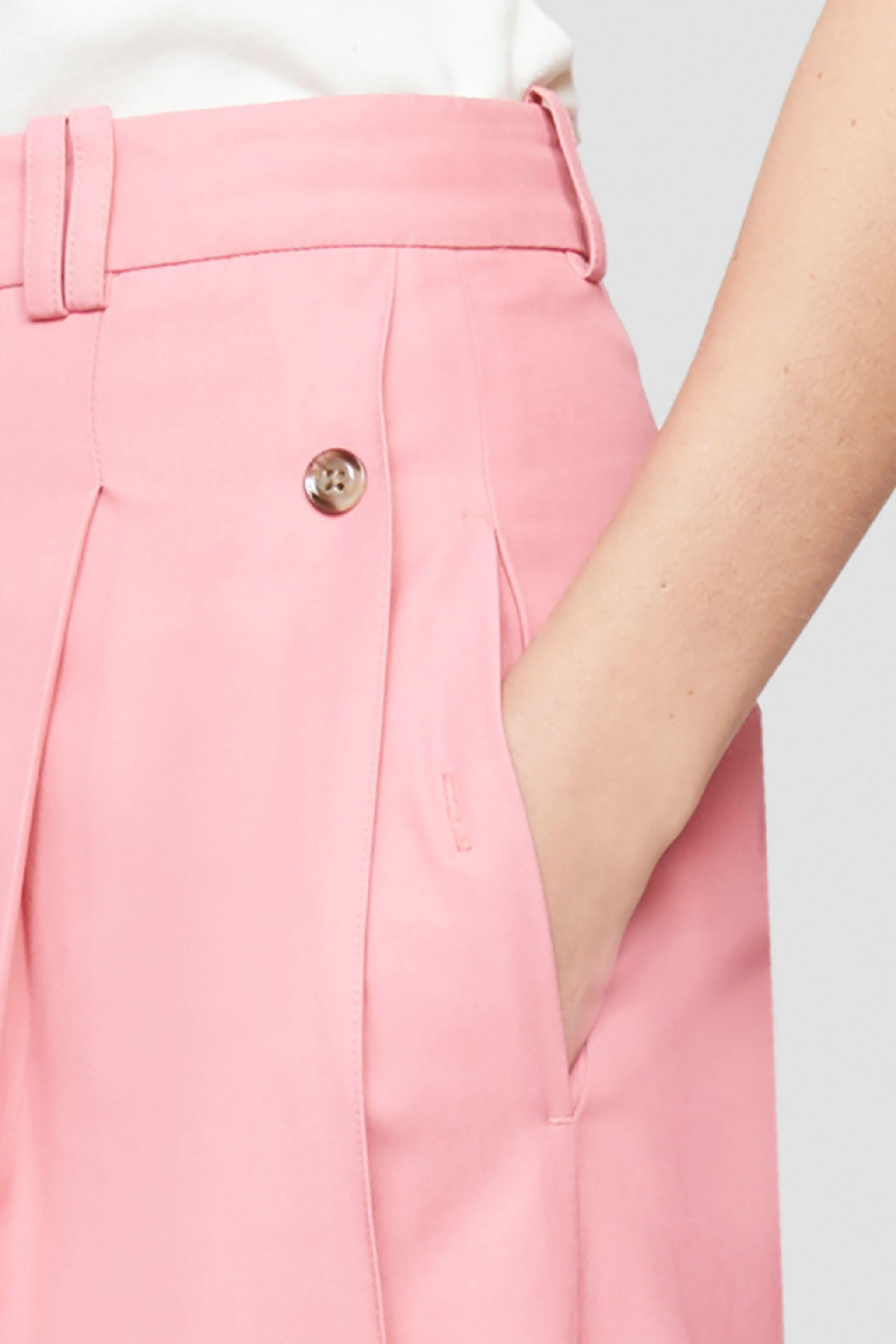 Flou pressed-crease palazzo trousers 4