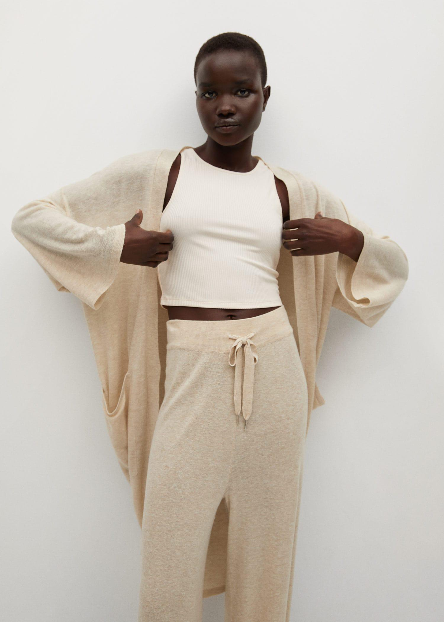 Knitted linen pants 4