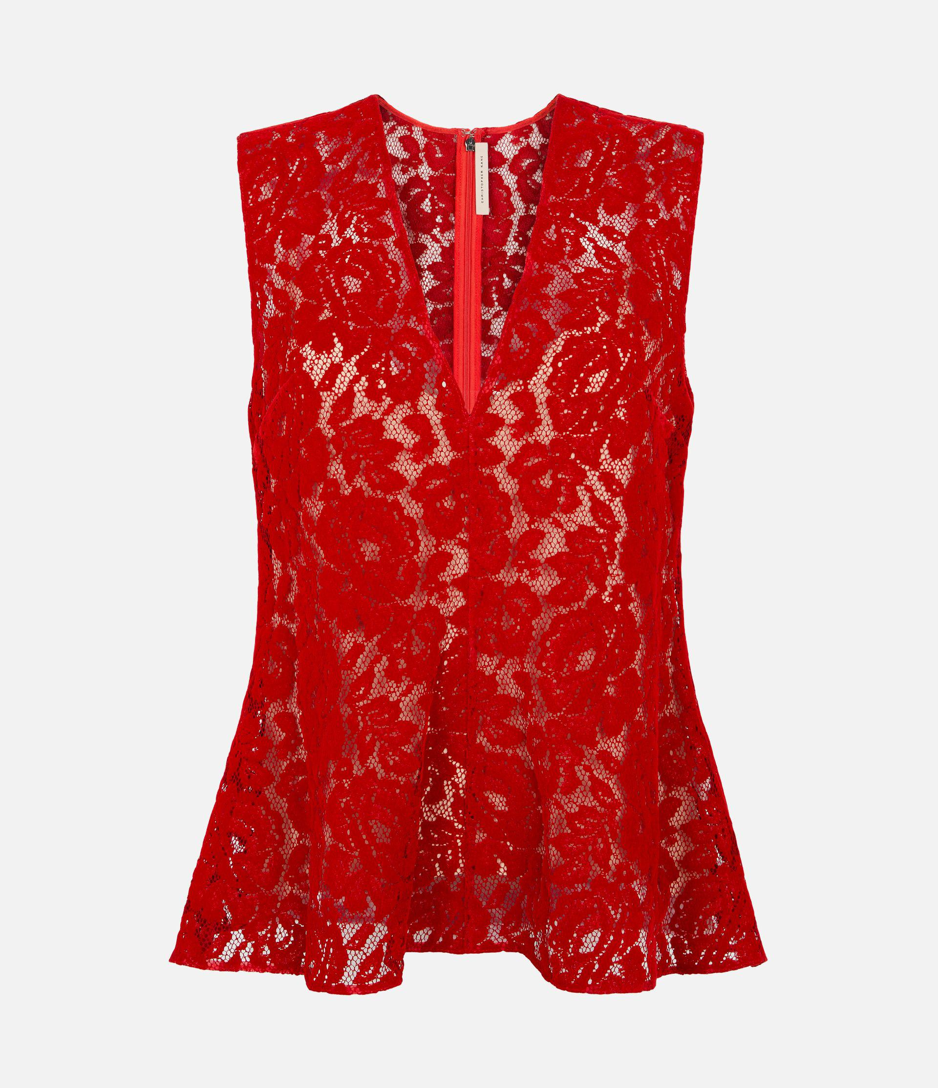 flock lace bell top 2