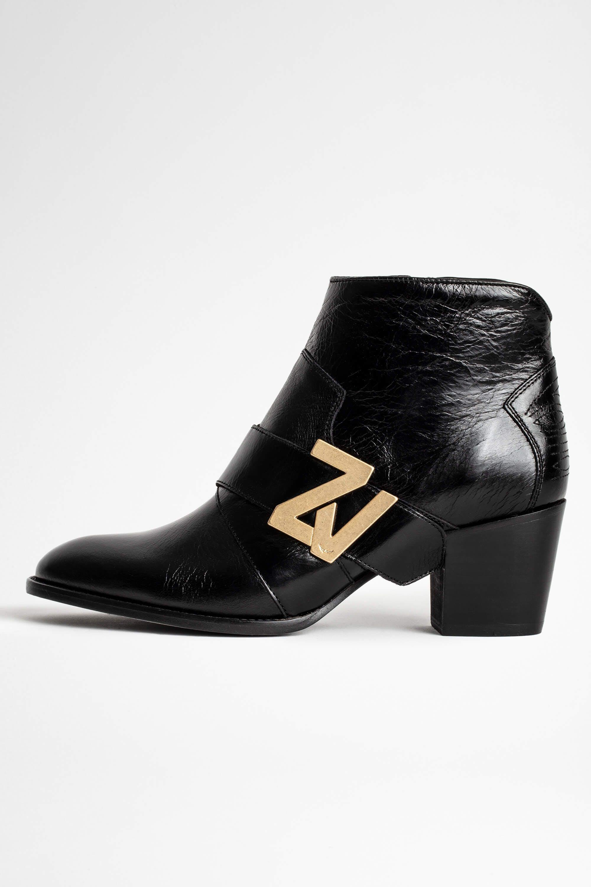 Molly ZV Initiale Vintage Patent Boot
