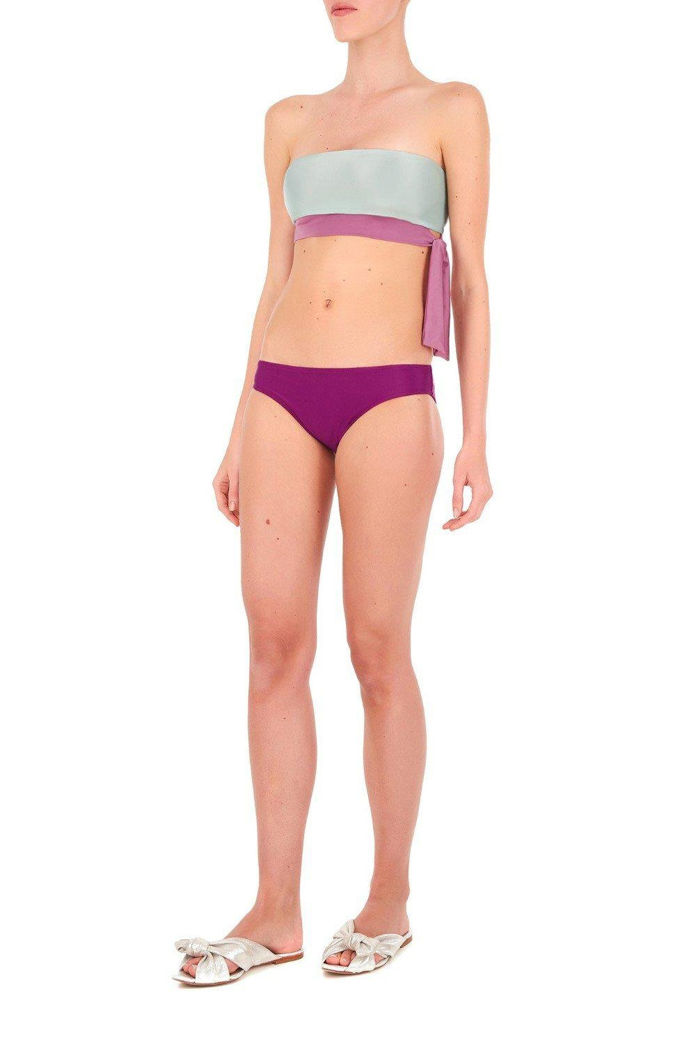 Cinque Terre Strapless Bikini with Knot Detail