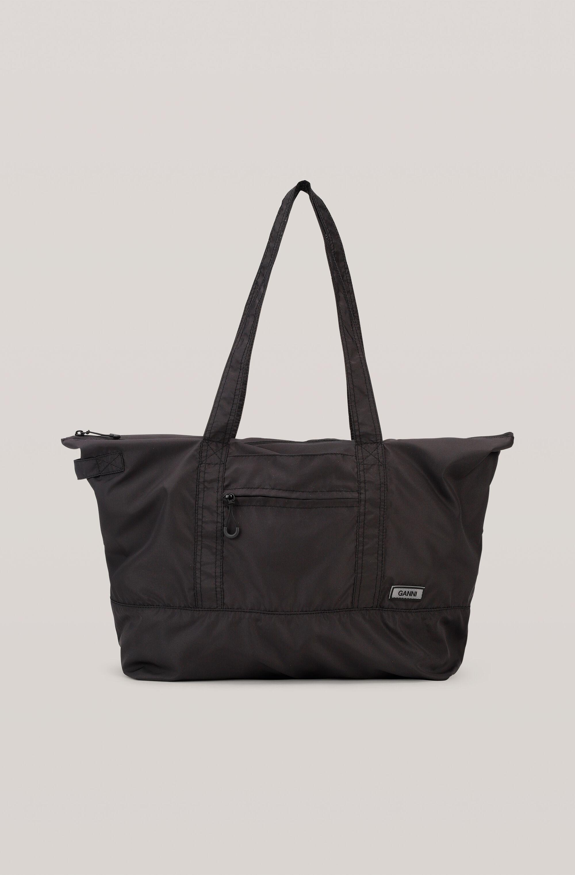 Recycled Tech Fabric Bags Packable Tote
