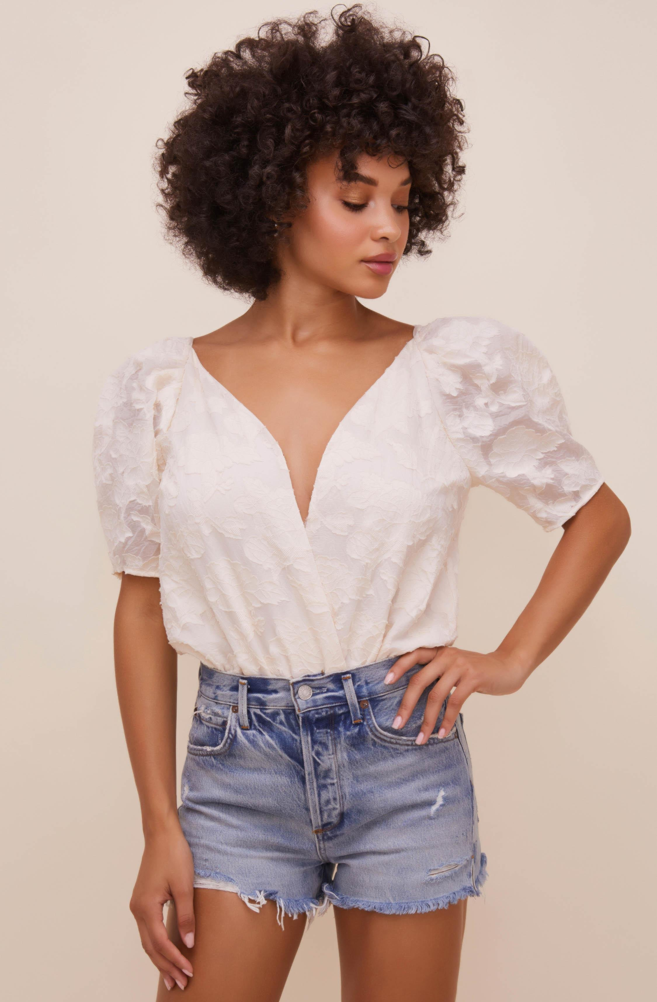 Colby Puff Sleeve Bodysuit 4