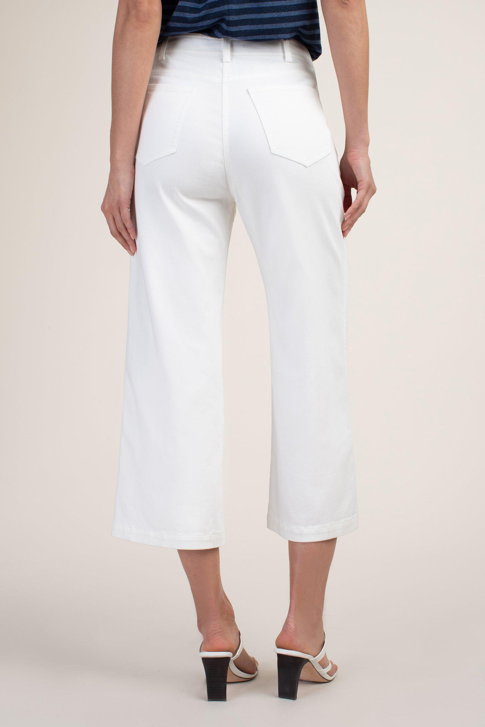 OUTSTANDING WHITE JEAN PANT 1