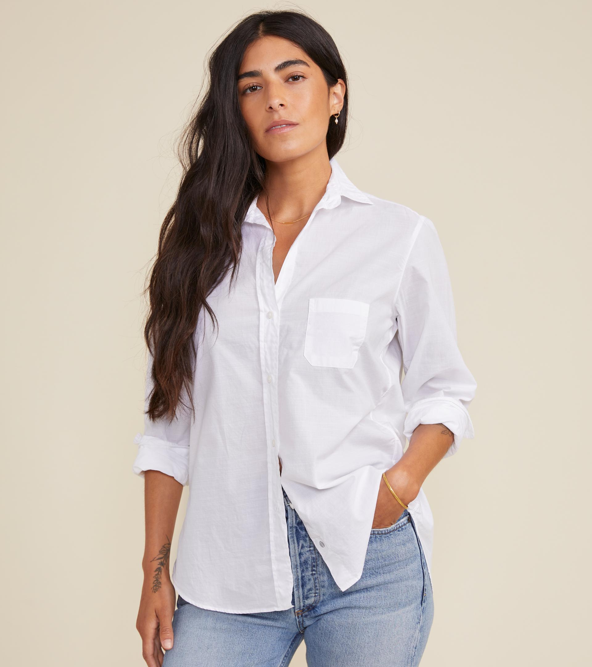The Hero Classic White, Washed Cotton 2