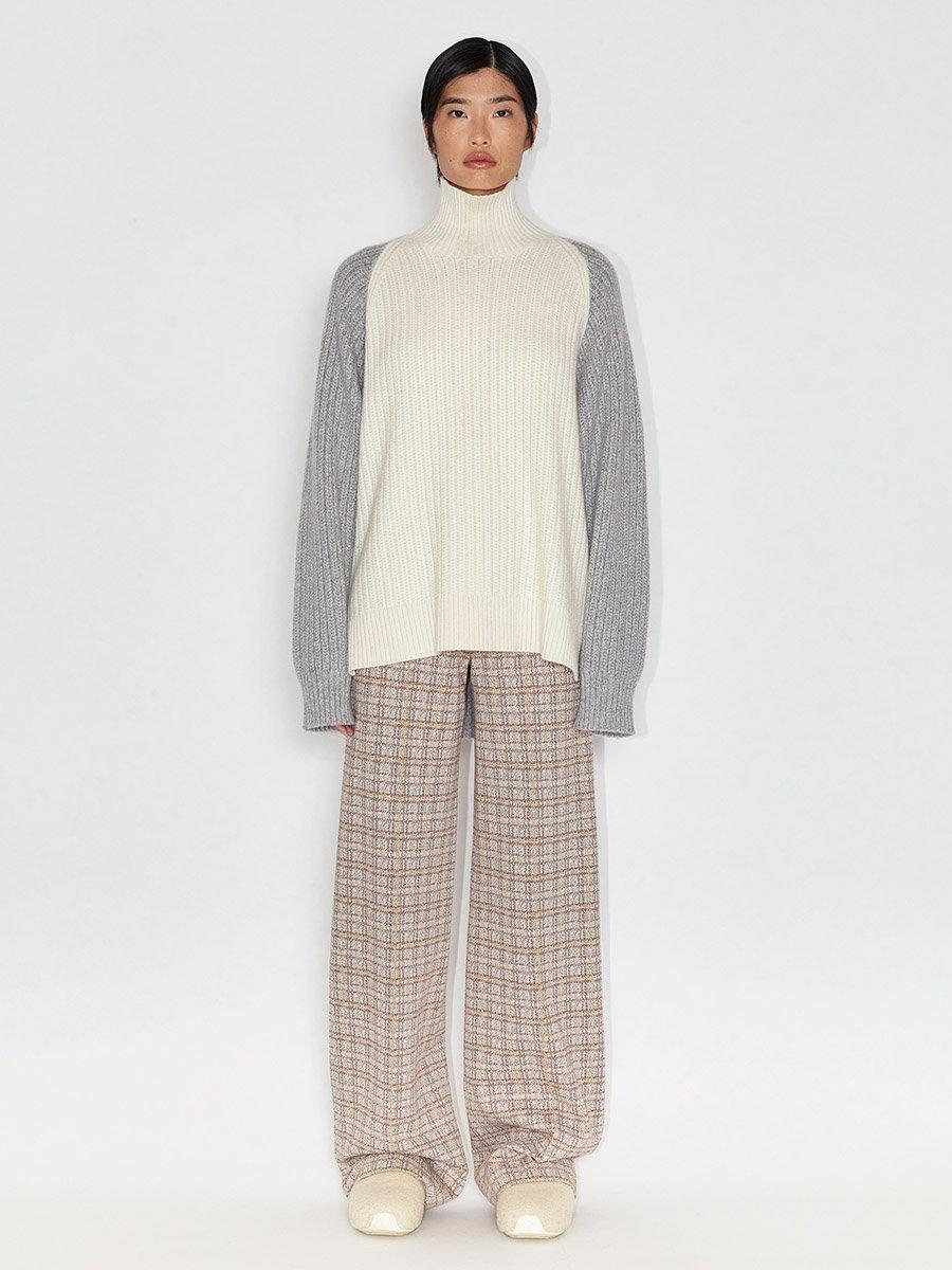 Inverted Cable Turtleneck 1