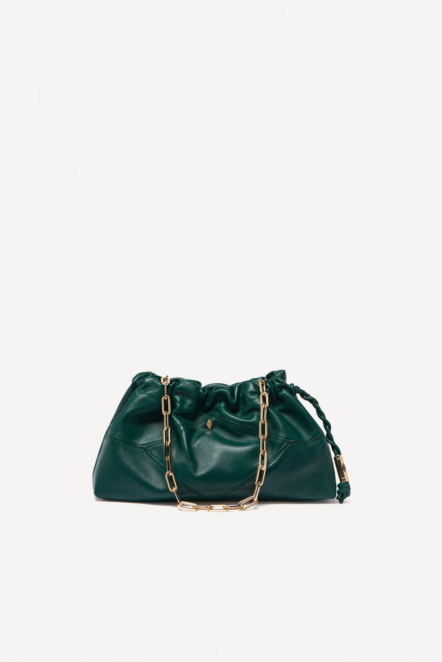 june.LEATHER CLUTCH