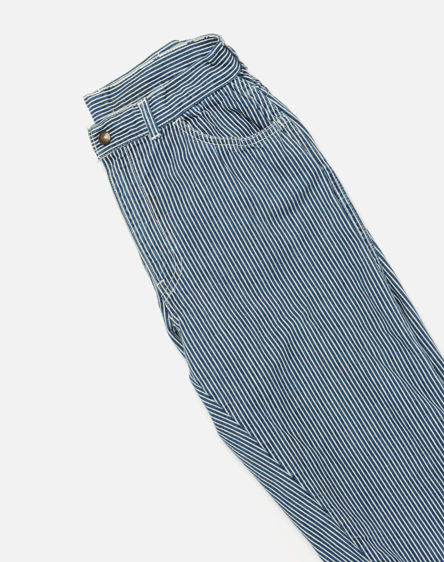 1950s Levi's For Gals Pinstripe Jean Size 26 - #136 2