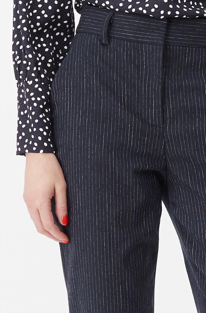 TAILORED PINSTRIPE SUITING PANT 2