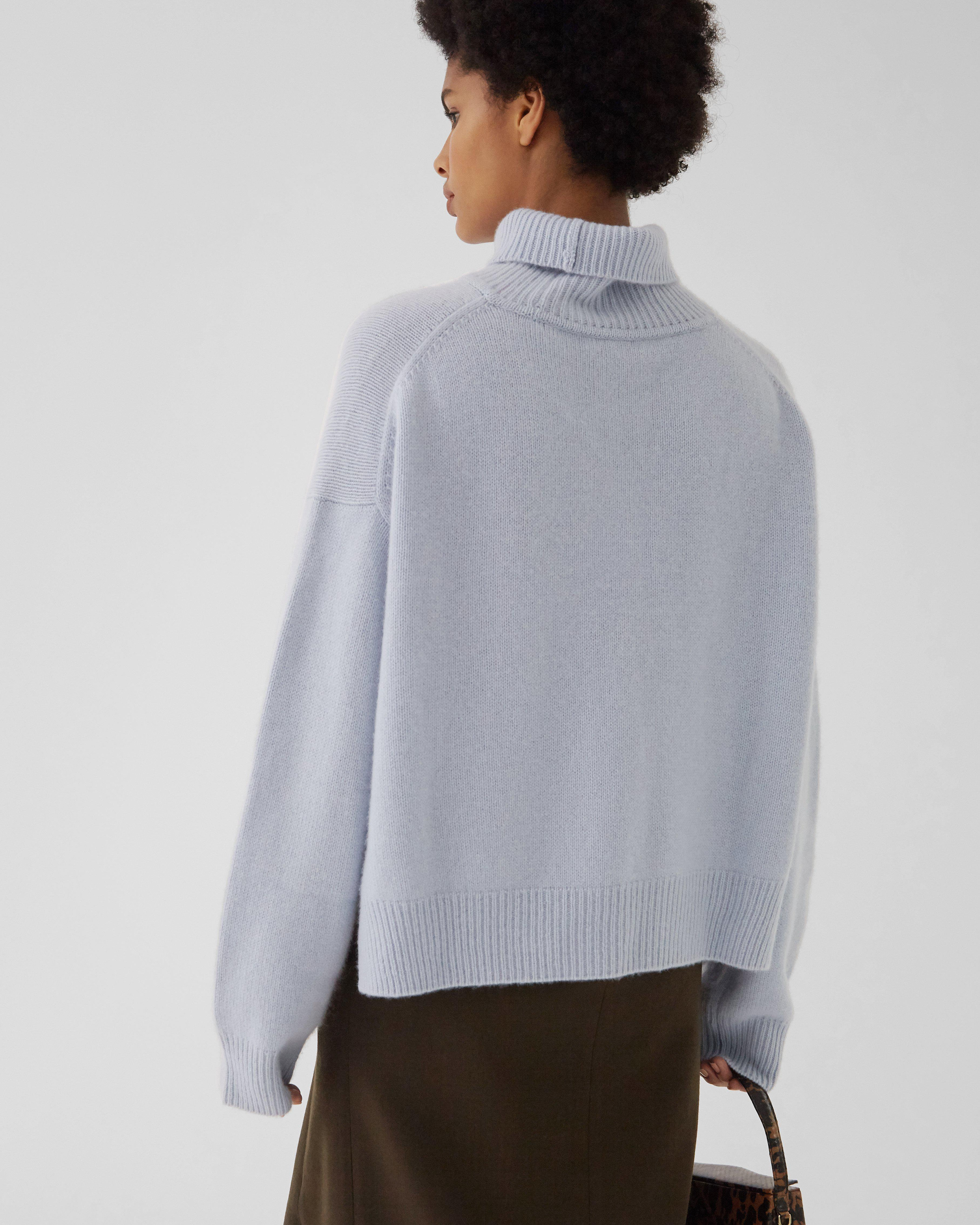 Lyn Sweater Regenerated Cashmere Blue 3