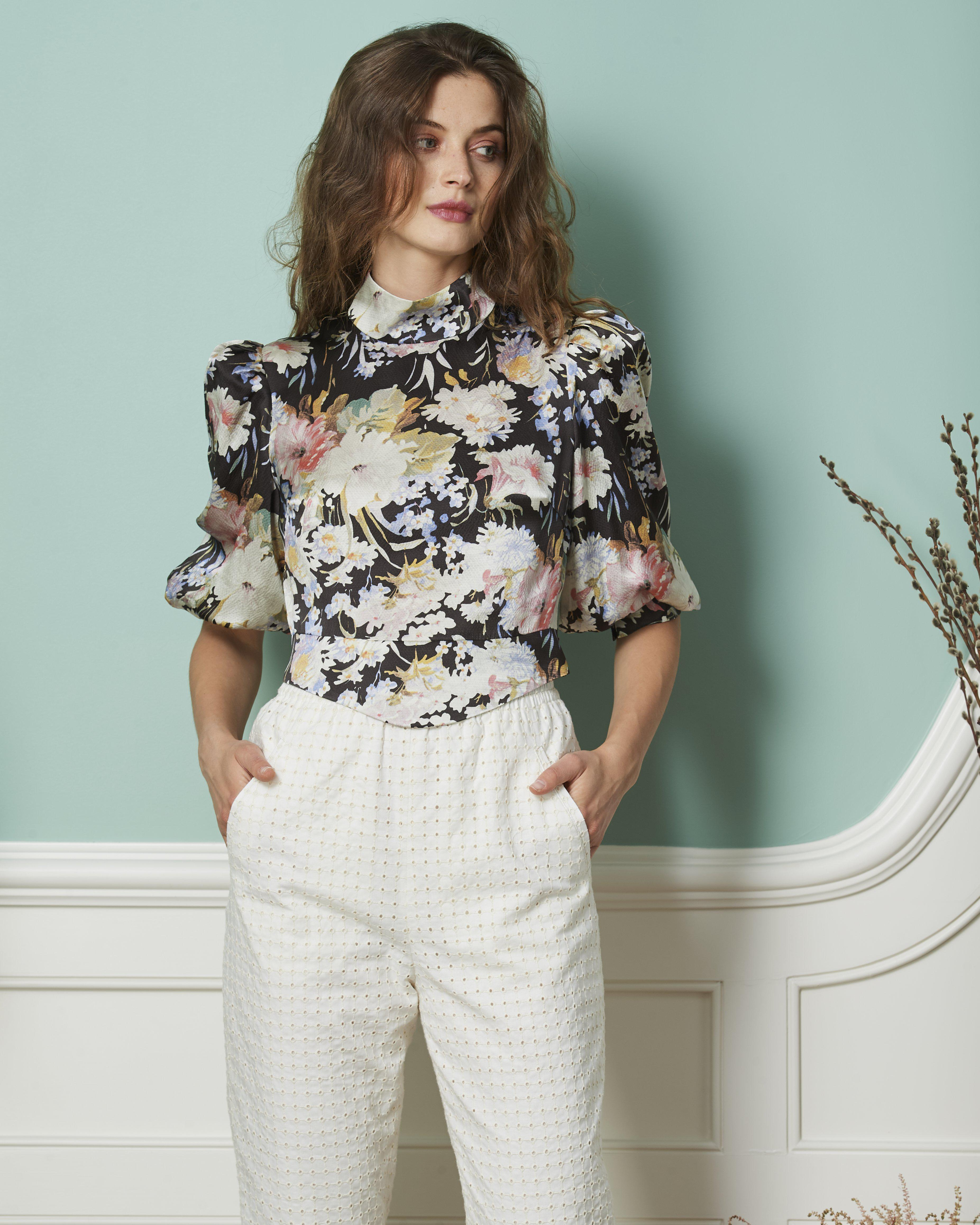 The Adele Blouse | June Blooms