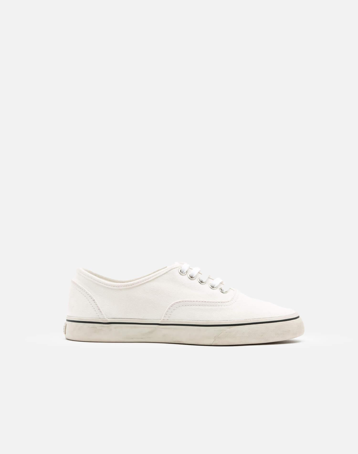 70s Low Top Skate - Washed Off White