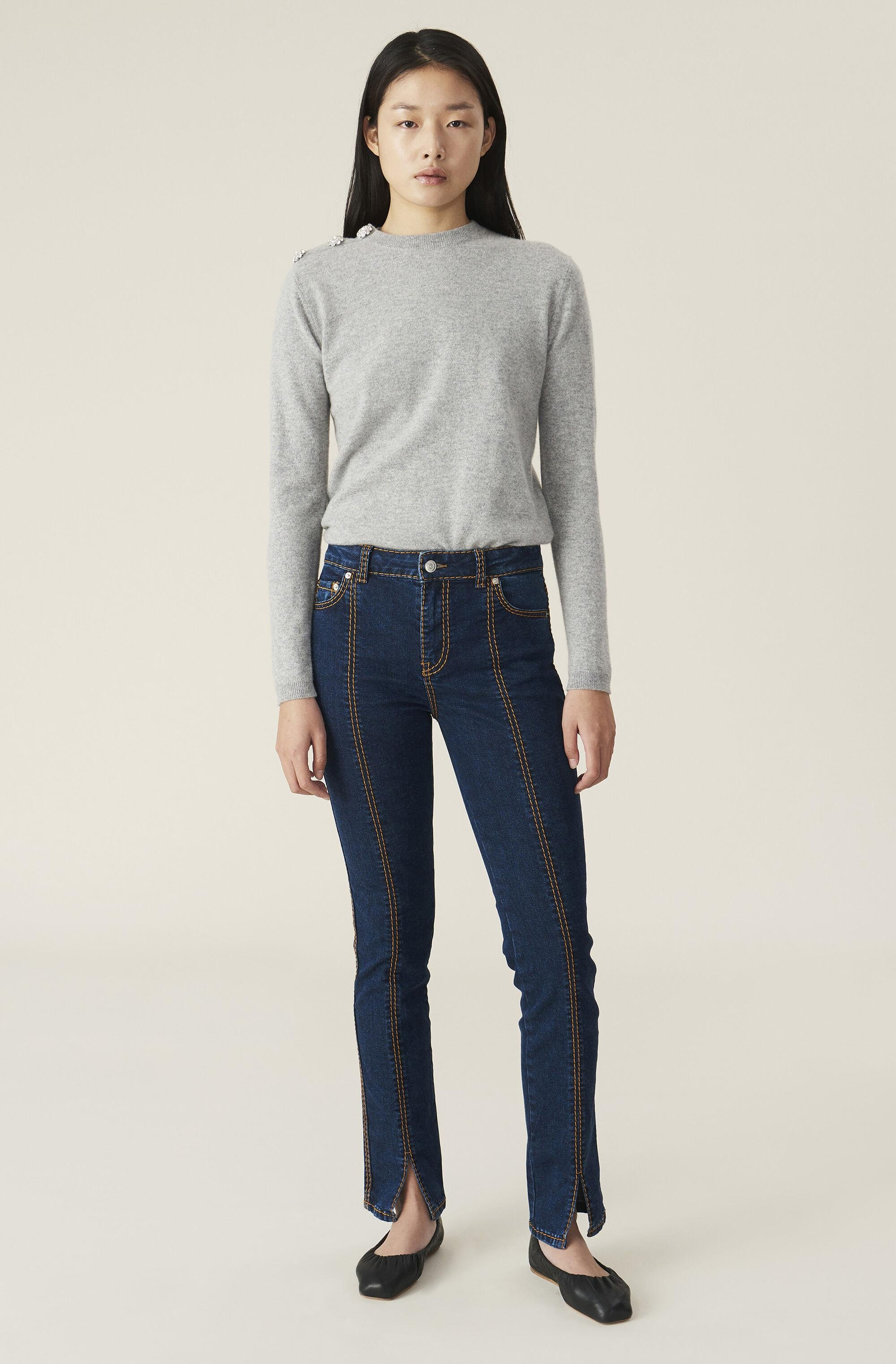 Cashmere Knit Pullover - Solid 1