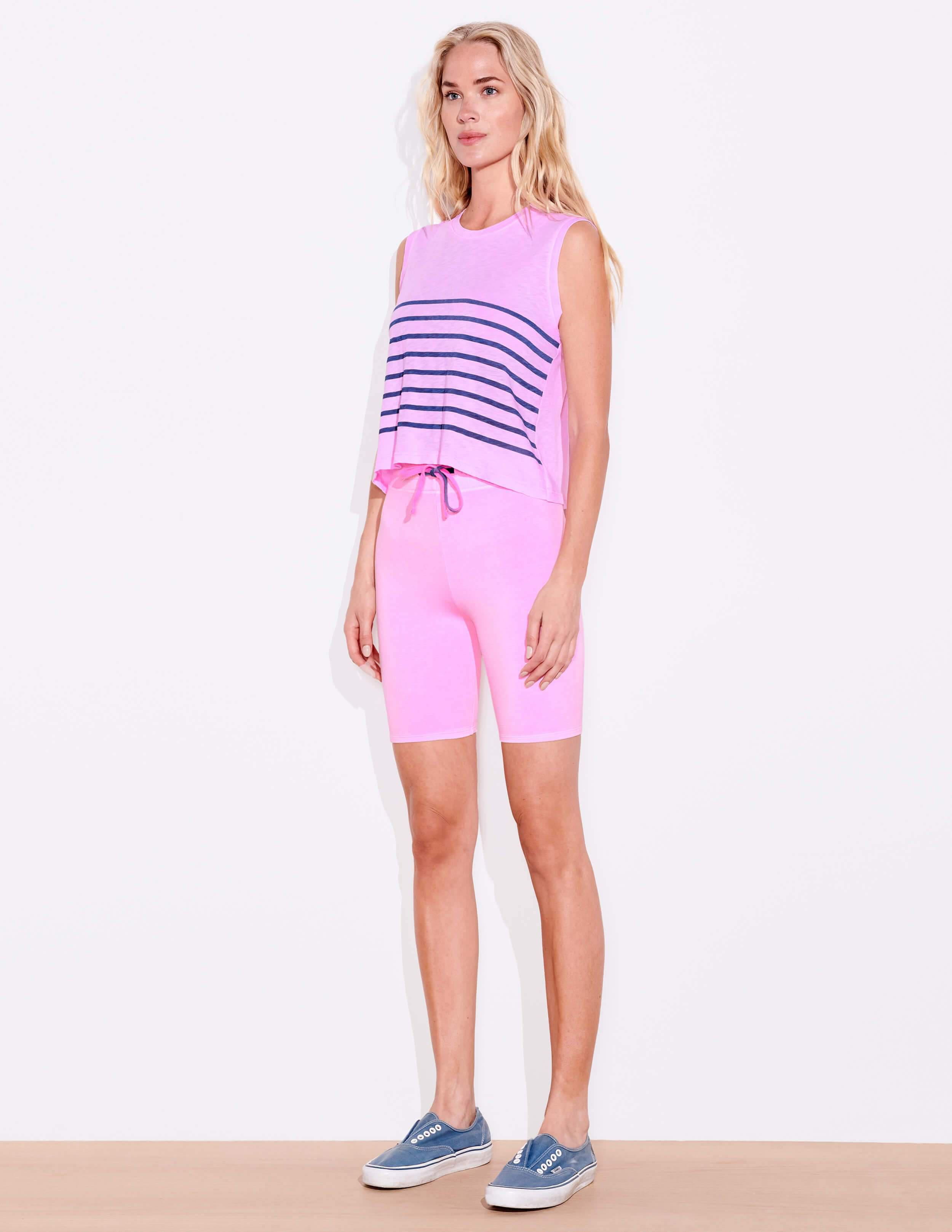 Blue Stripes Muscle Tee 2