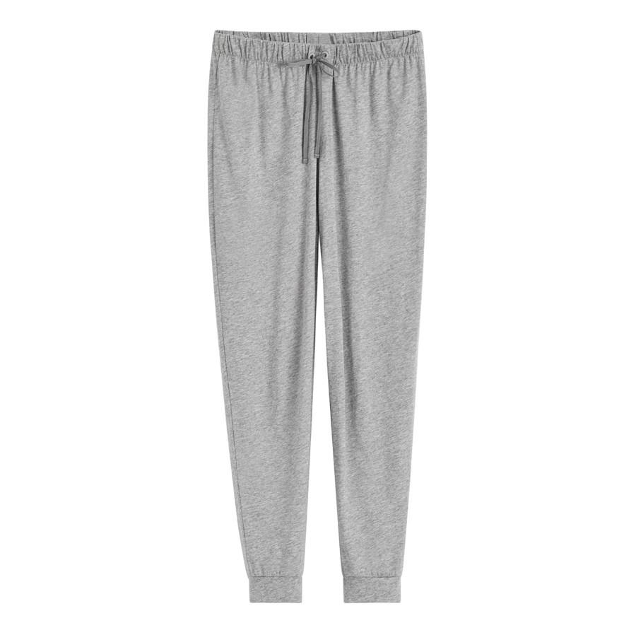 Women's Pima Tapered Pant in Heather Grey | Size:
