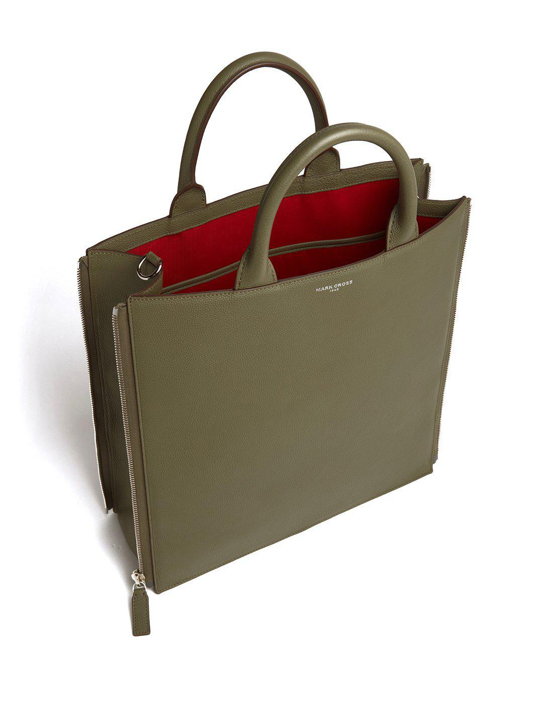 Sidney Leather Tote Bag 4