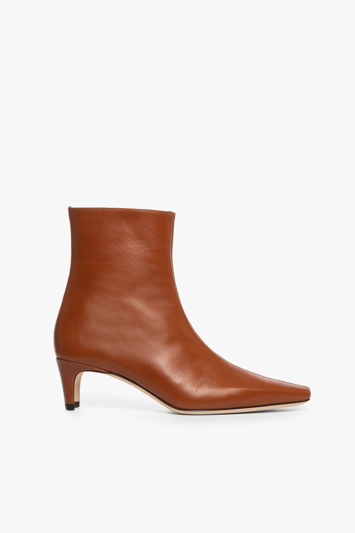 WALLY ANKLE BOOT | TAN