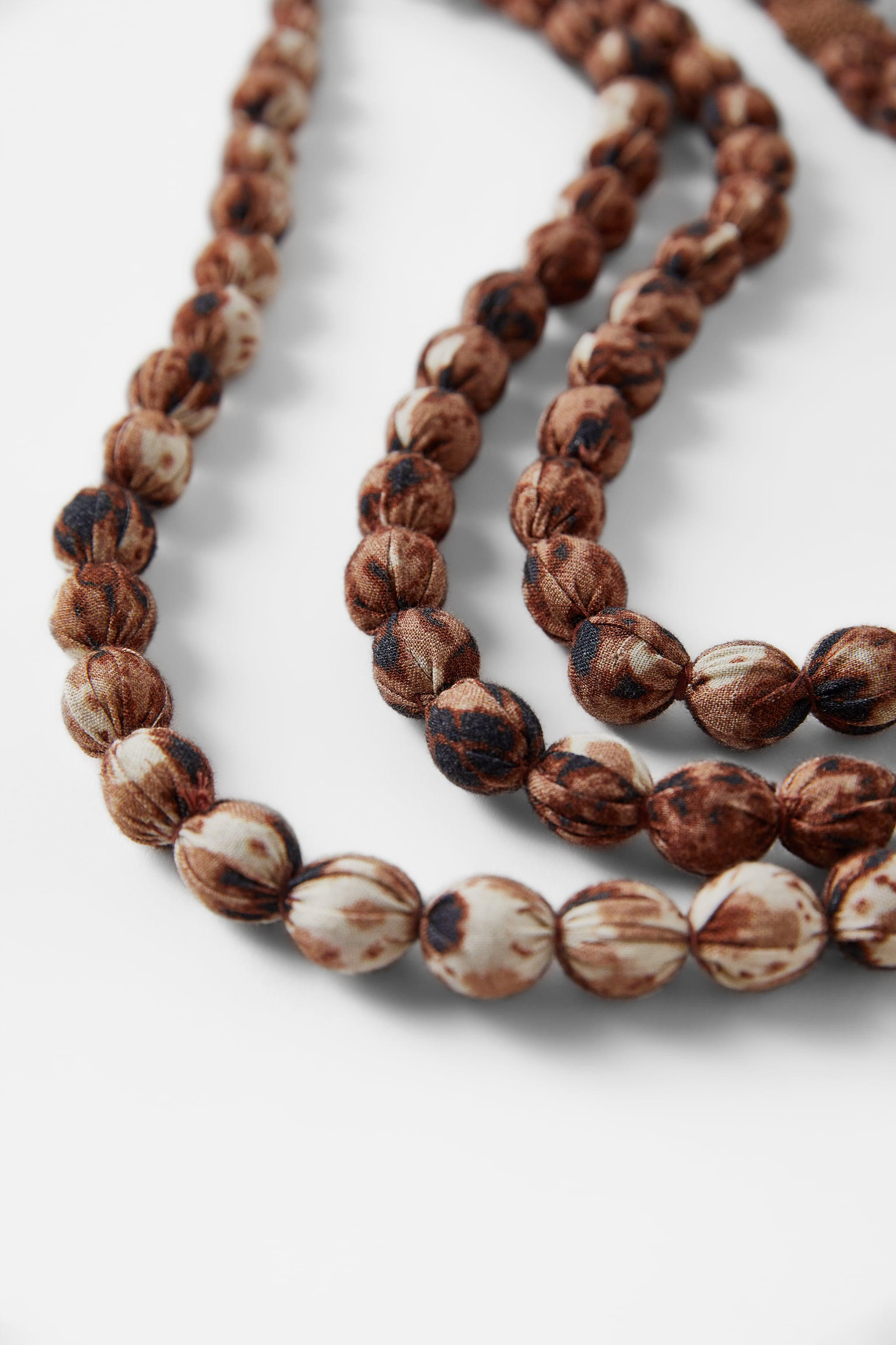 LONG BEADED NECKLACE 4