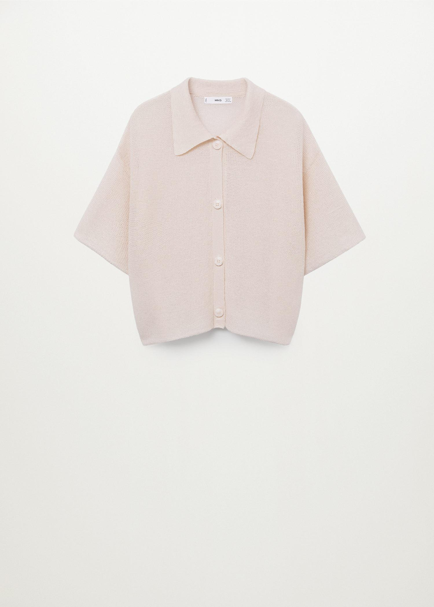 Openwork knit polo 8