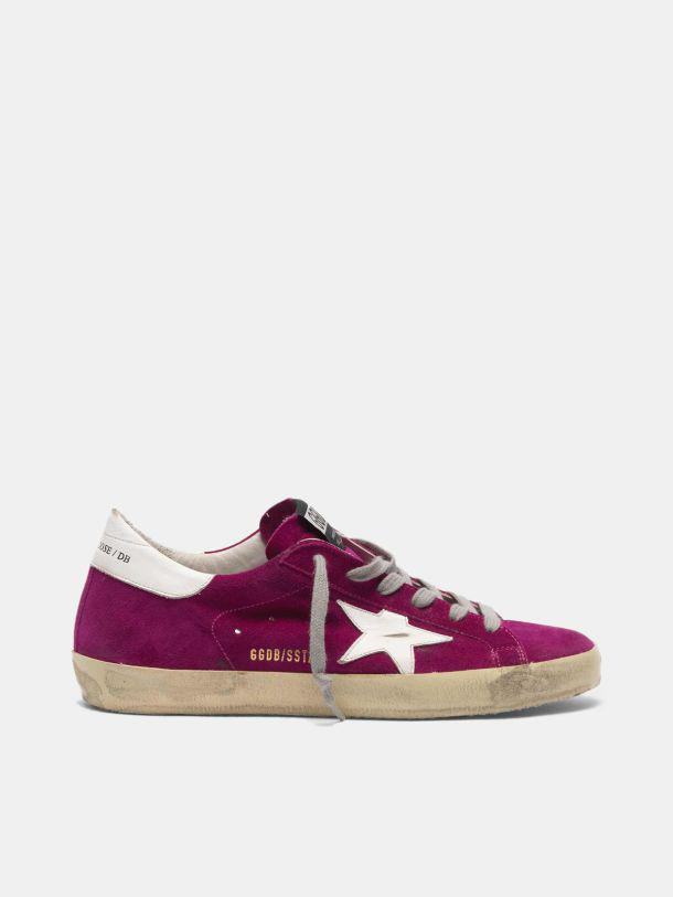 Super-Star sneakers in suede with white star