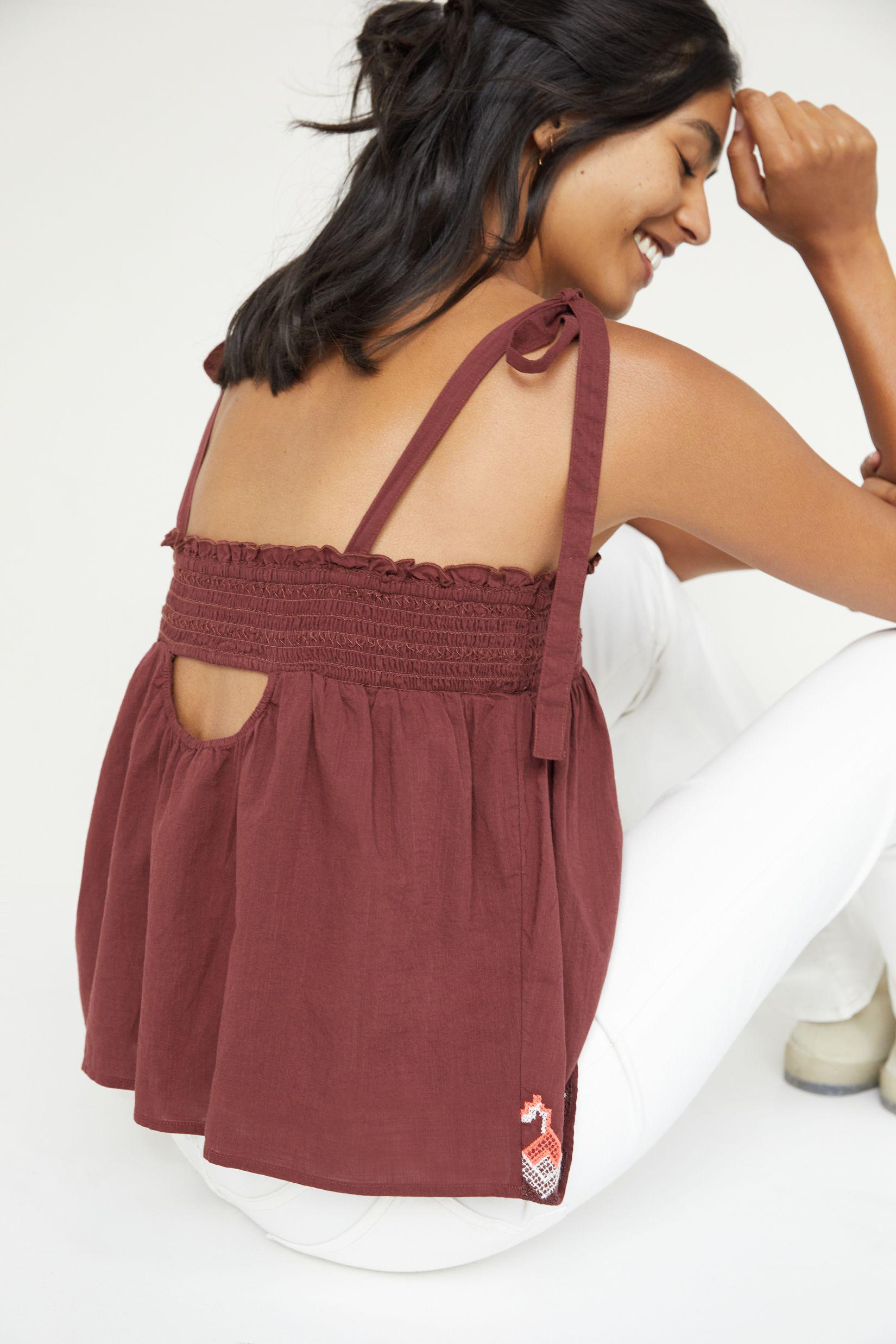 Embroidered Swing Tank 1