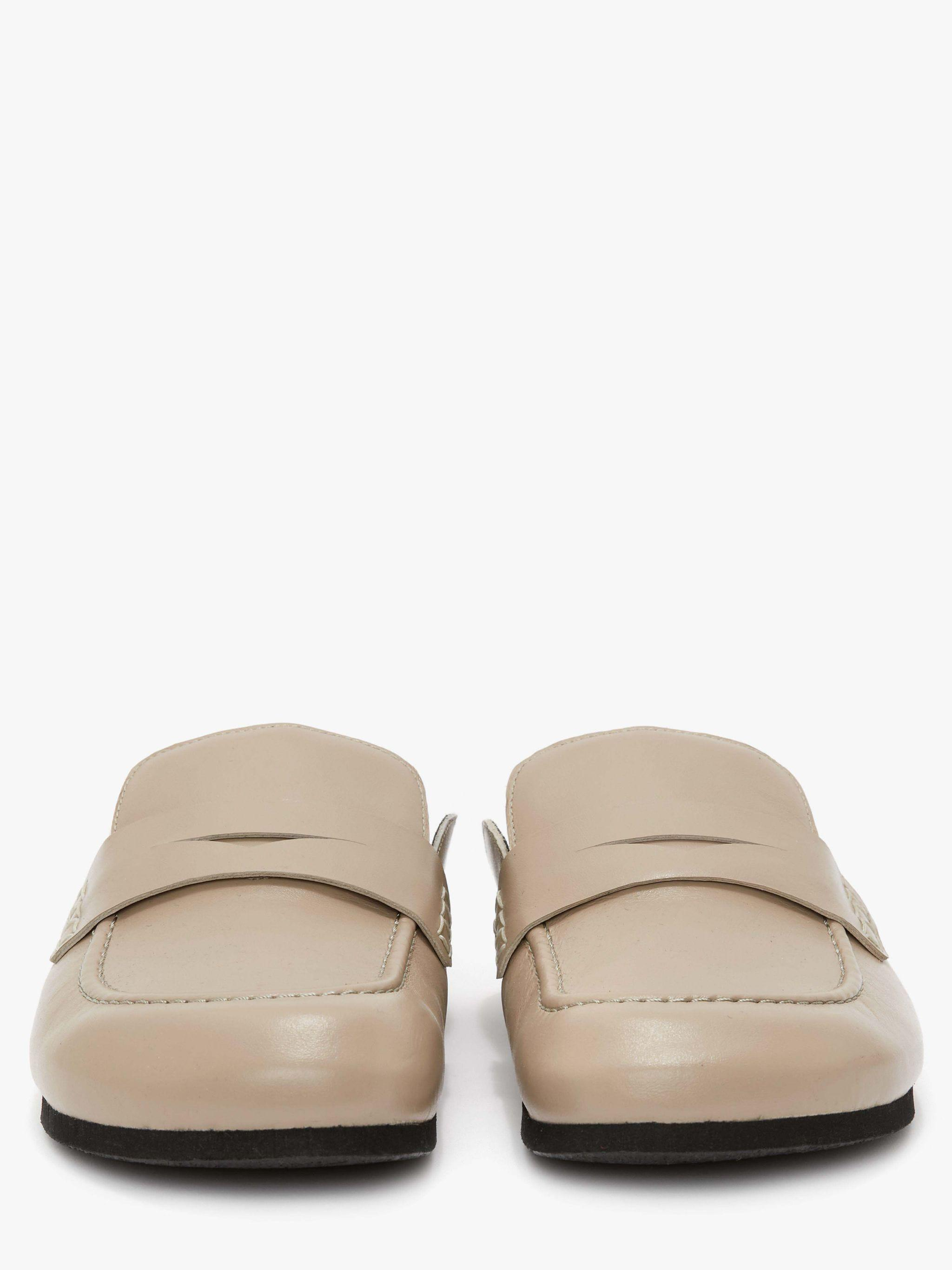 WOMEN'S LEATHER LOAFER MULES 2