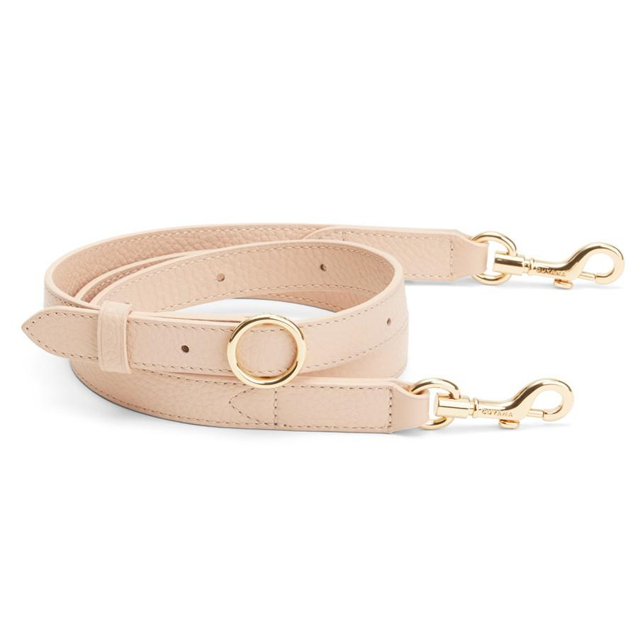 Women's Adjustable Strap in Blush Pink | Pebbled Leather by Cuyana