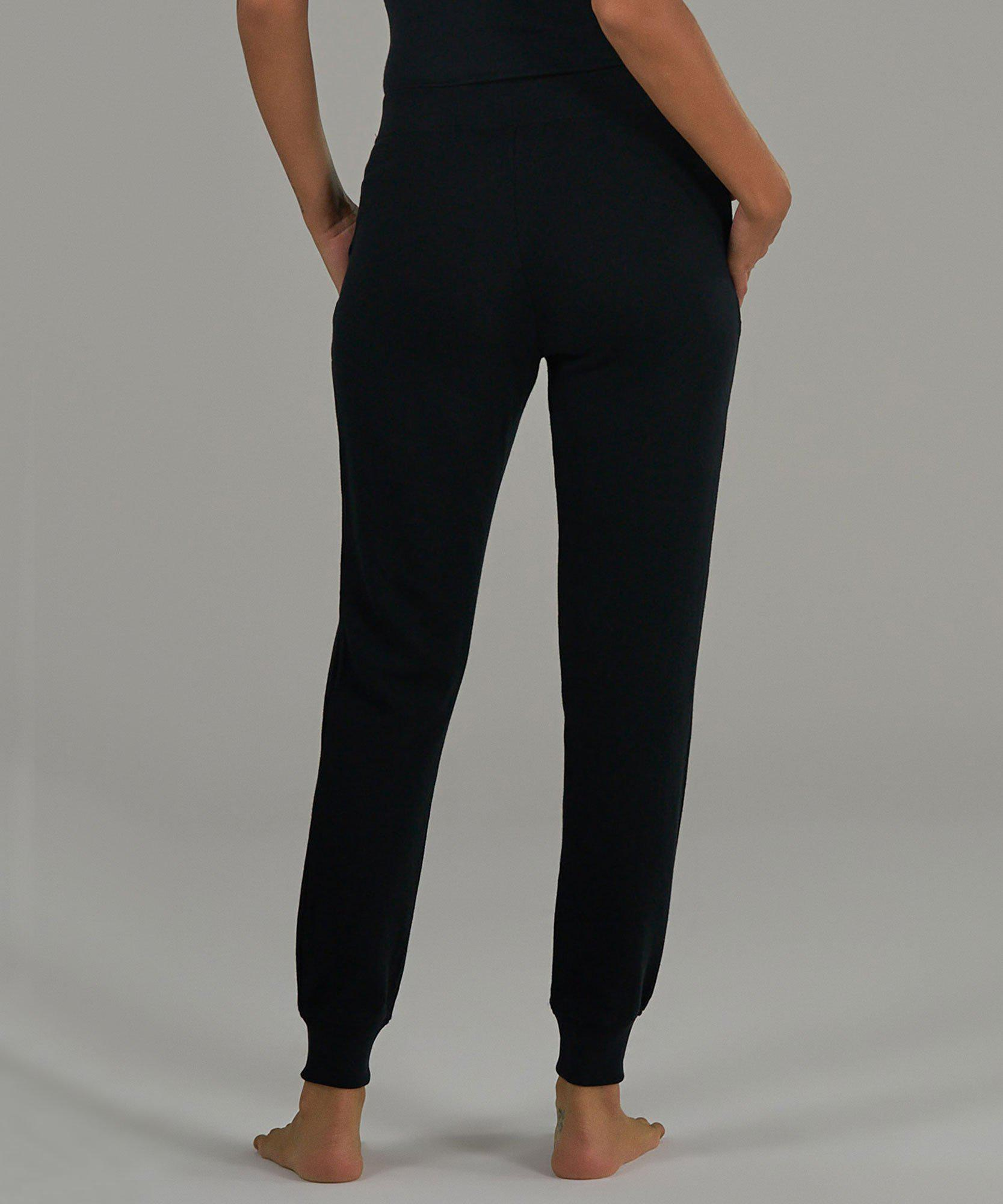 French Terry Sweatpants - Black 2