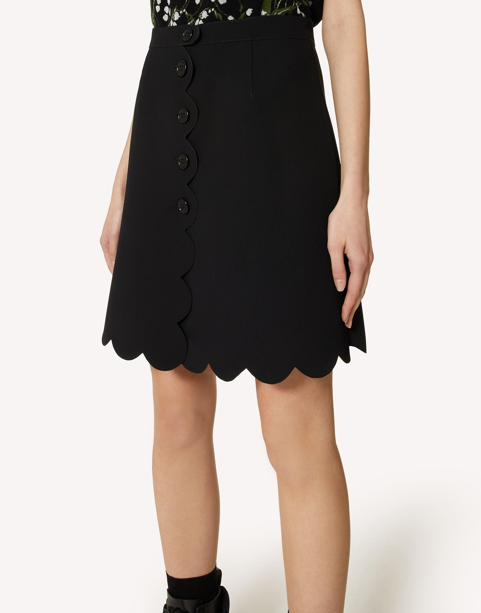 FUSED TECH SKIRT WITH SCALLOP DETAIL 3