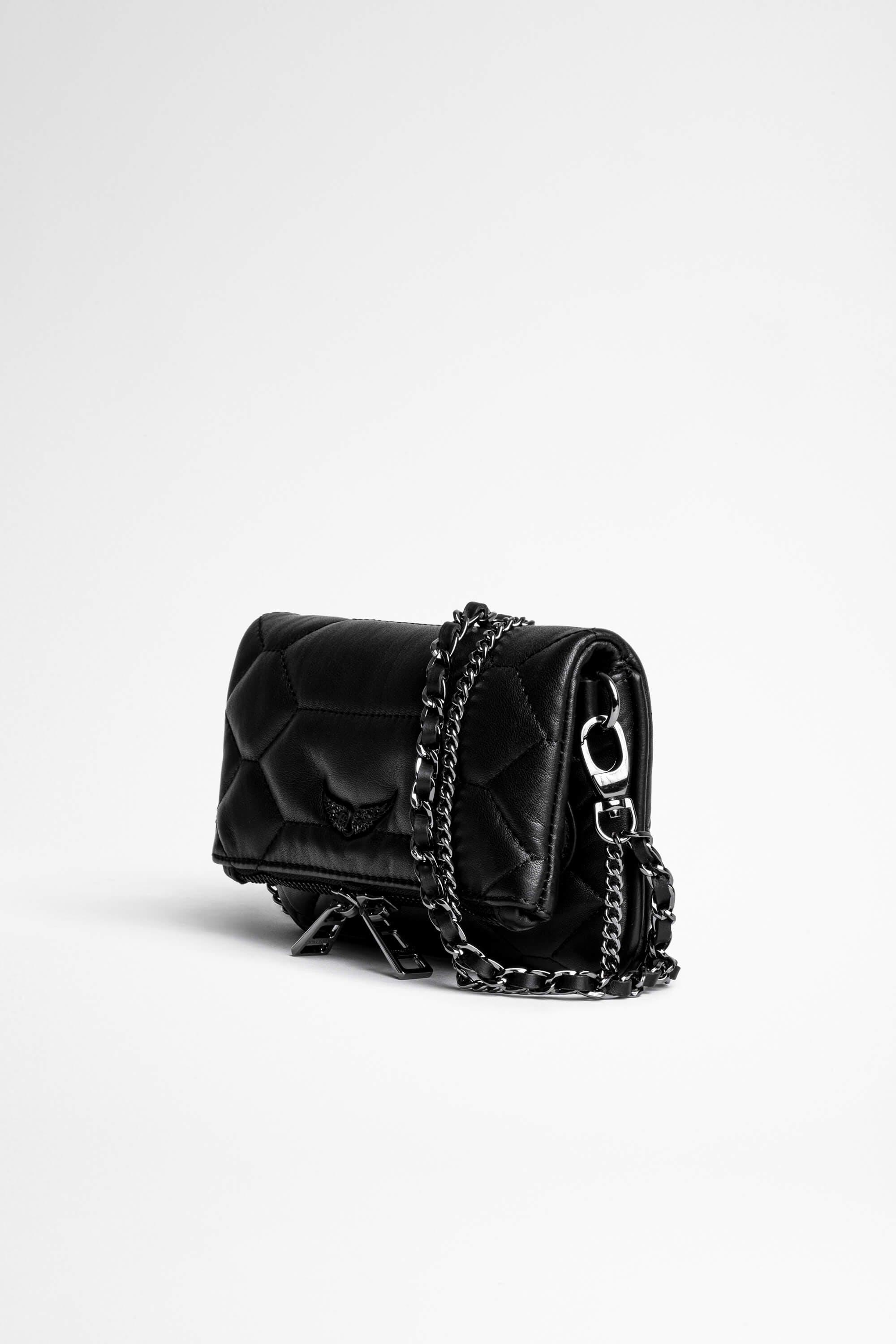 Rock Nano Quilted Leather Clutch 2