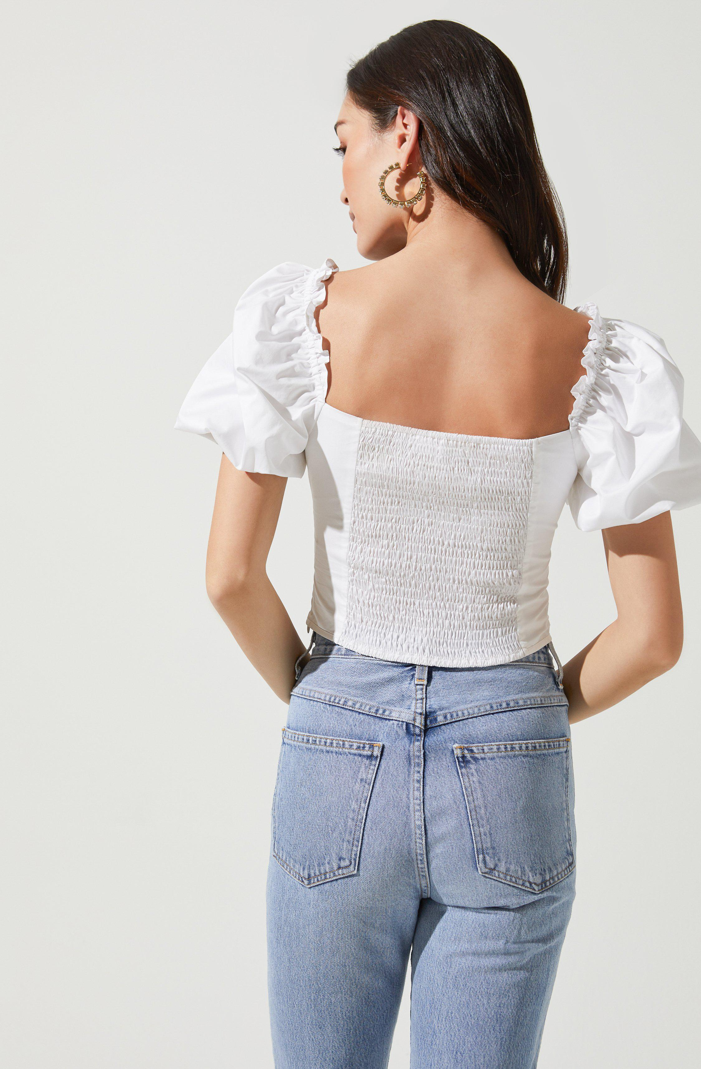 Gilmore Puff Sleeve Top 3
