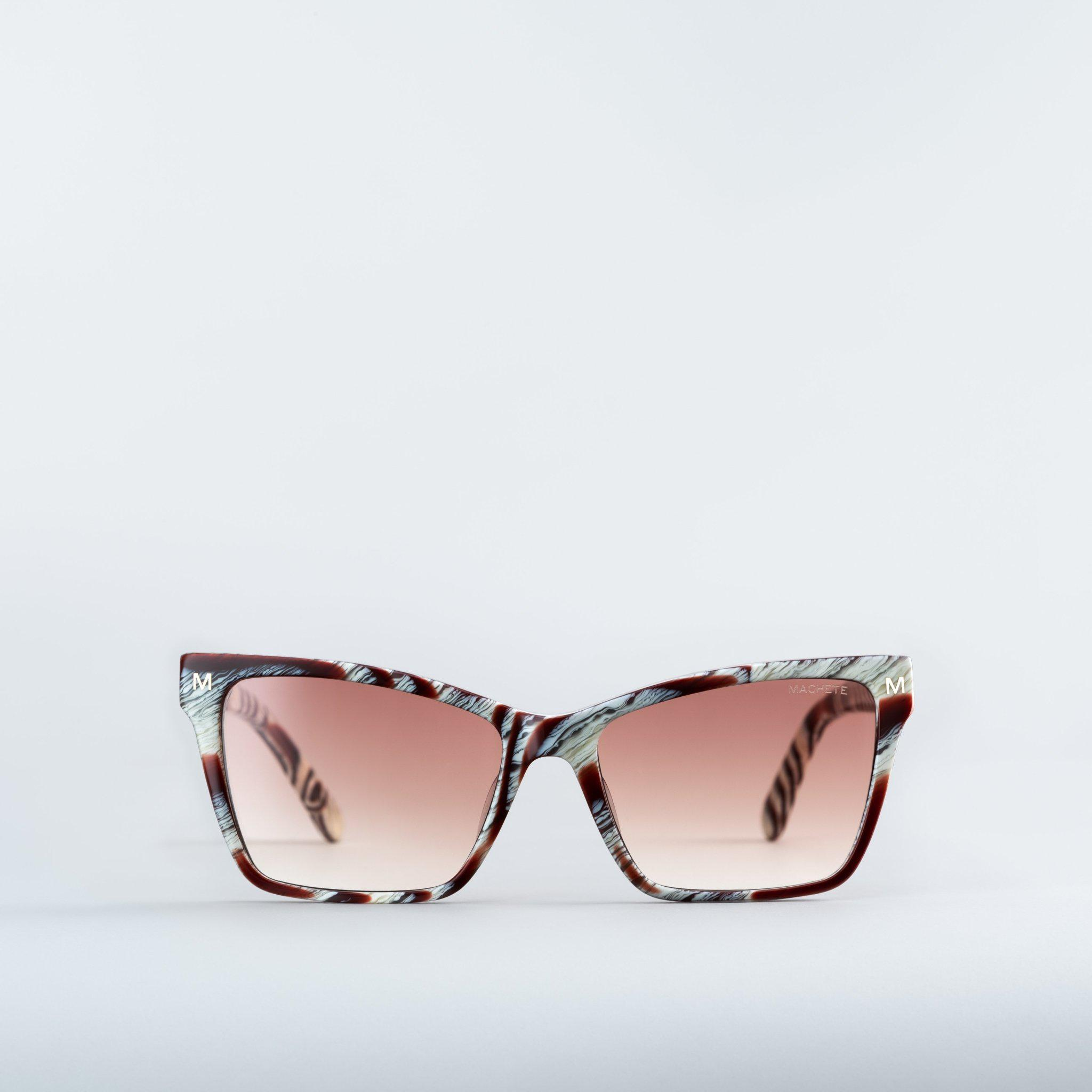 Sally - Sunglasses in Canyon Brown