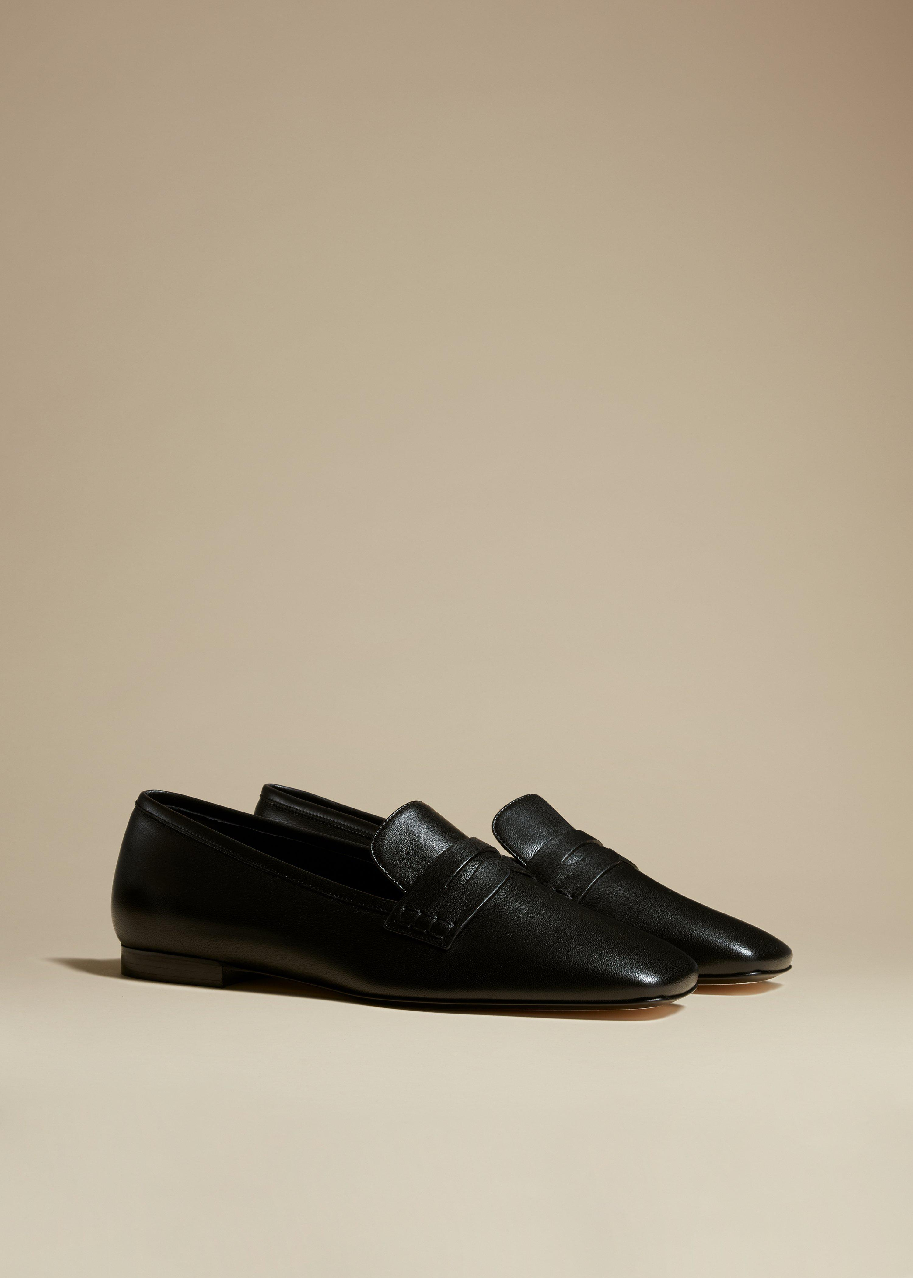 The Carlisle Loafer in Black Leather 1