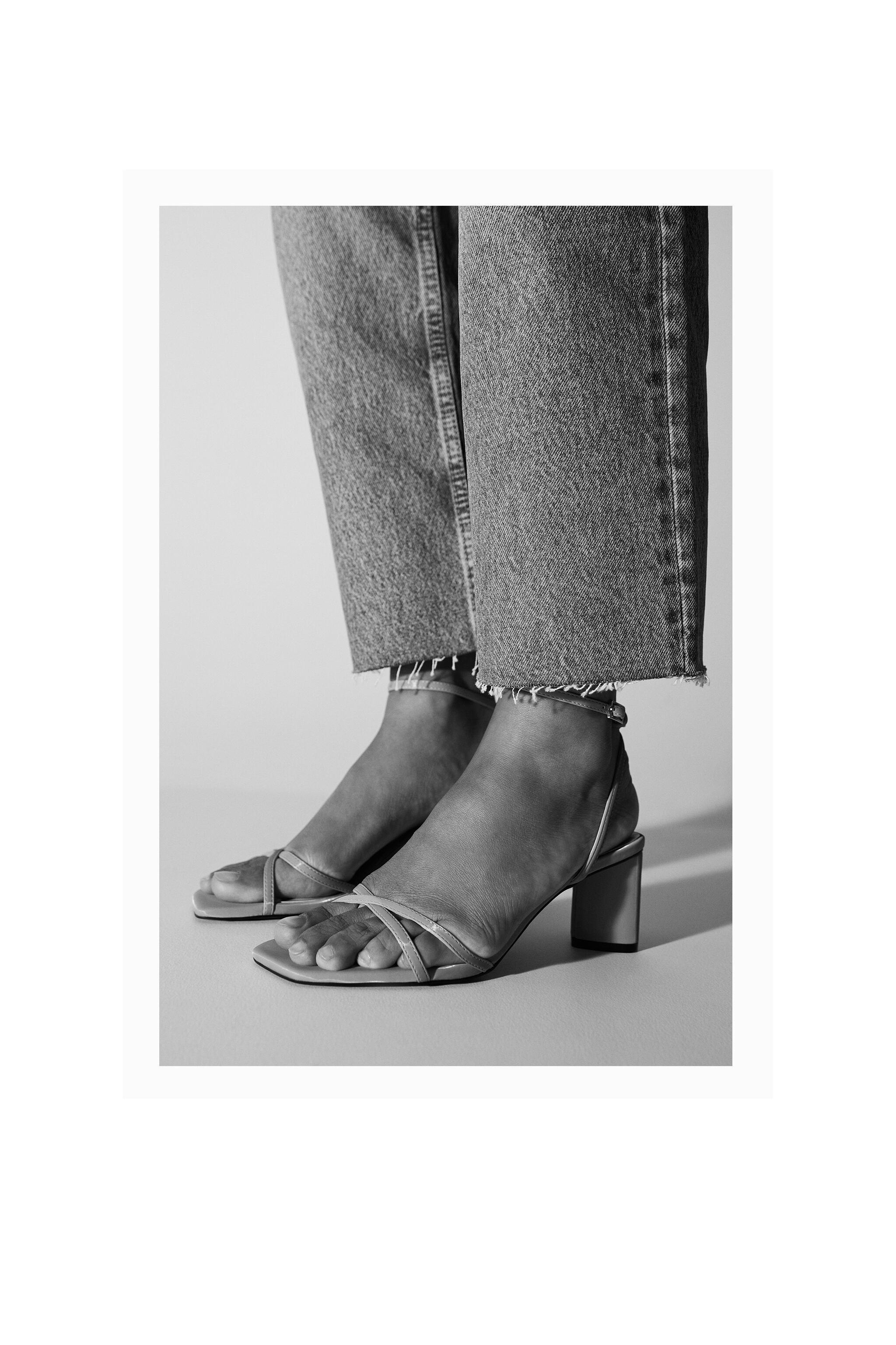 HEELED SANDALS WITH THIN STRAPS 5