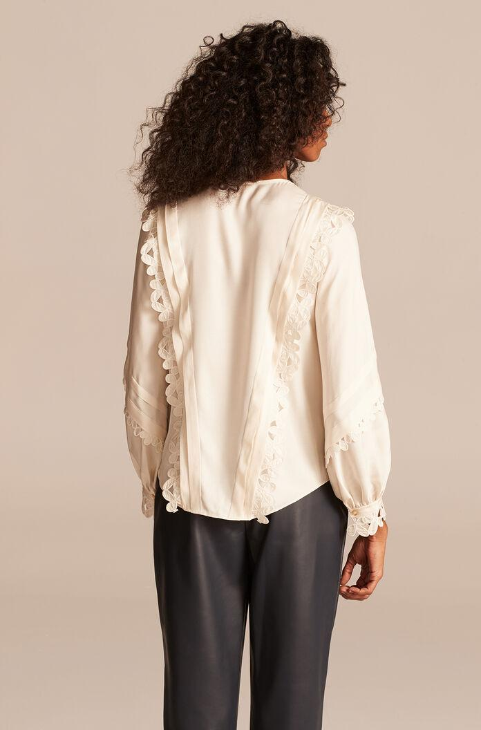 EMBROIDERED SILK TOP 2