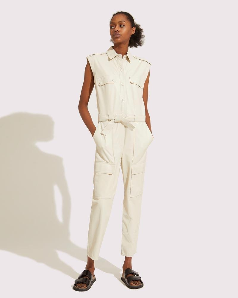 Belted multipockets overall 3